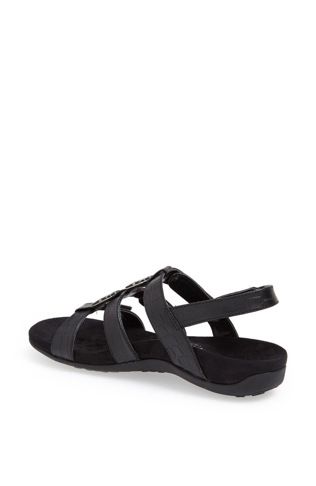 Alternate Image 2  - Vionic with Orthaheel® 'Amber' Adjustable Sandal