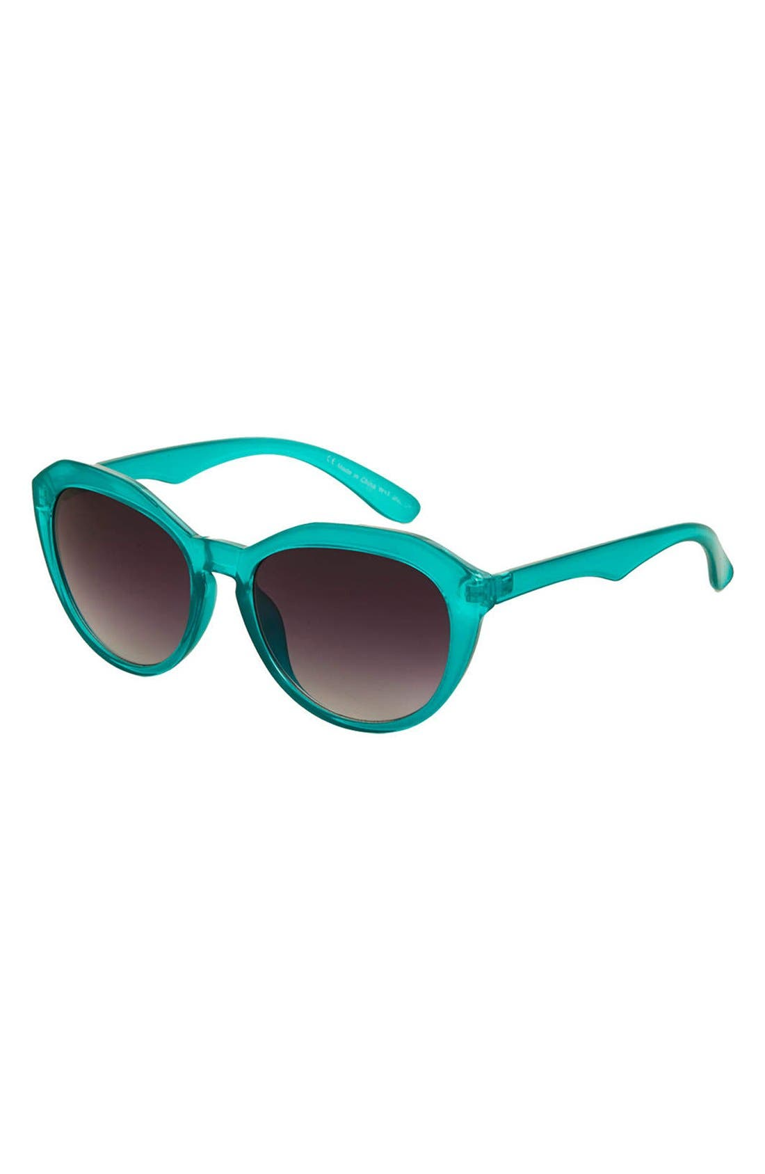 Alternate Image 1 Selected - Topshop 'Serene' 50mm Cat Eye Sunglasses