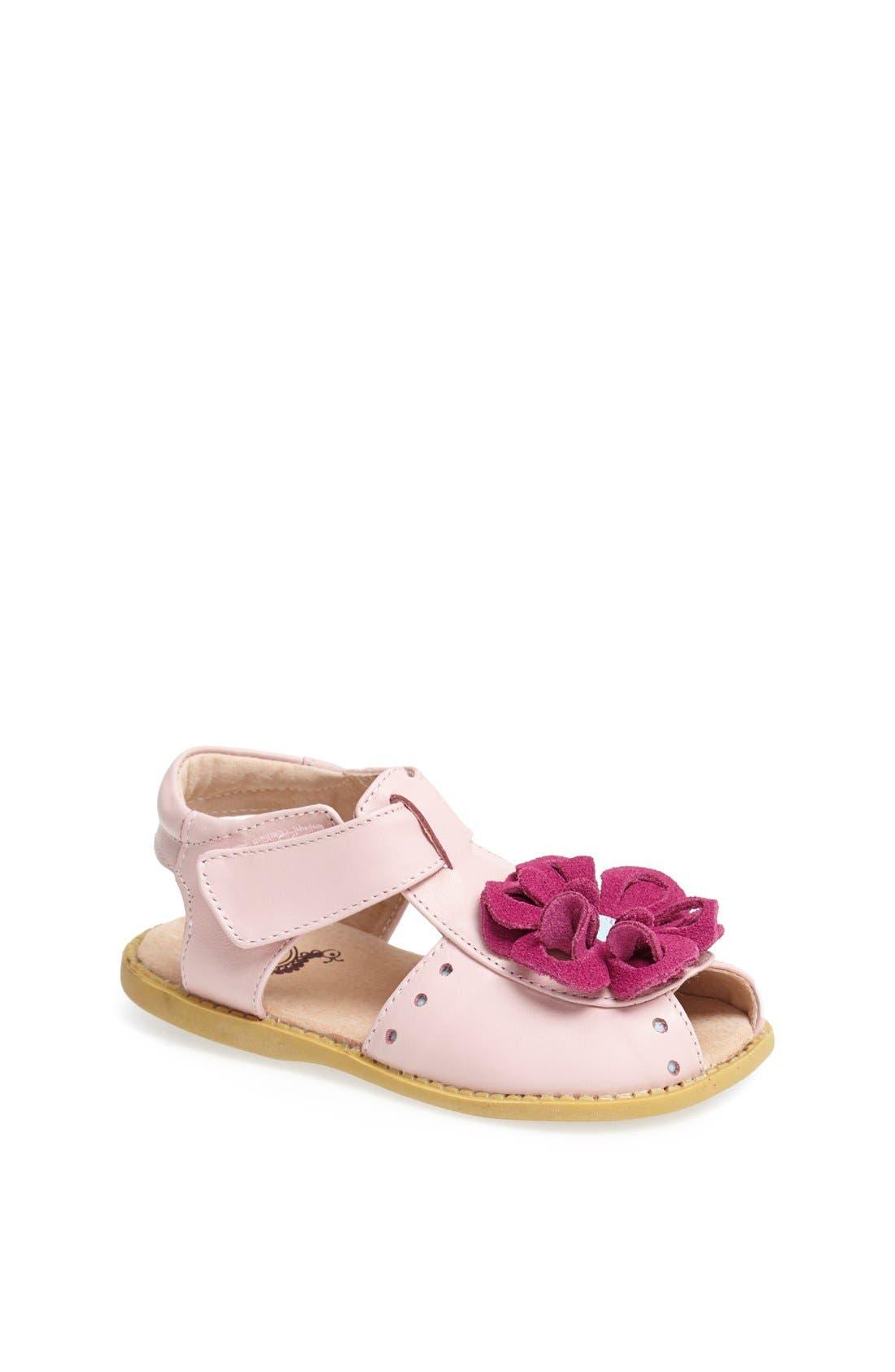Alternate Image 1 Selected - Livie & Luca 'Bloom' Sandal (Baby, Walker & Toddler)