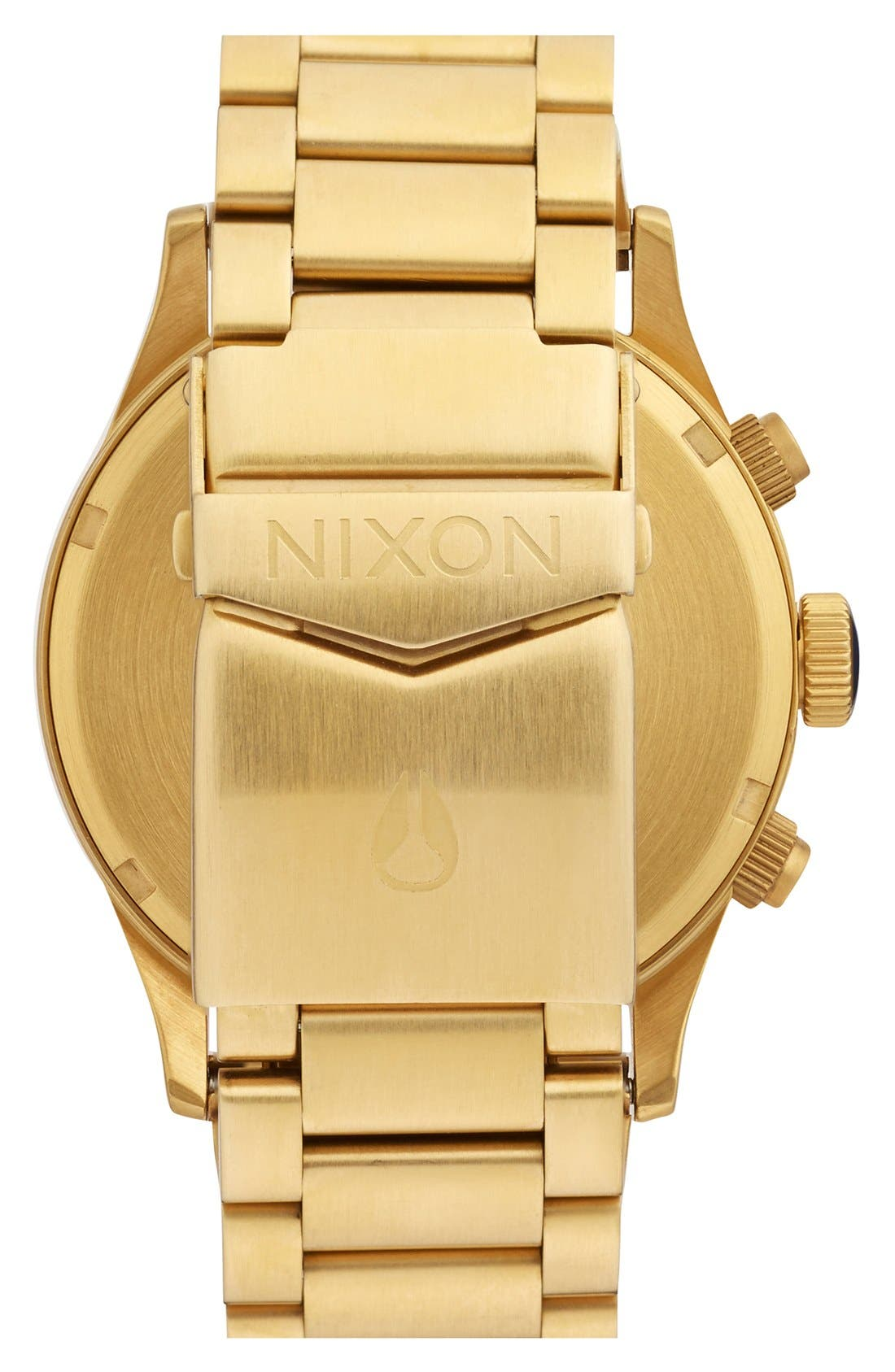 Alternate Image 2  - Nixon 'The Sentry' Chronograph Bracelet Watch, 42mm