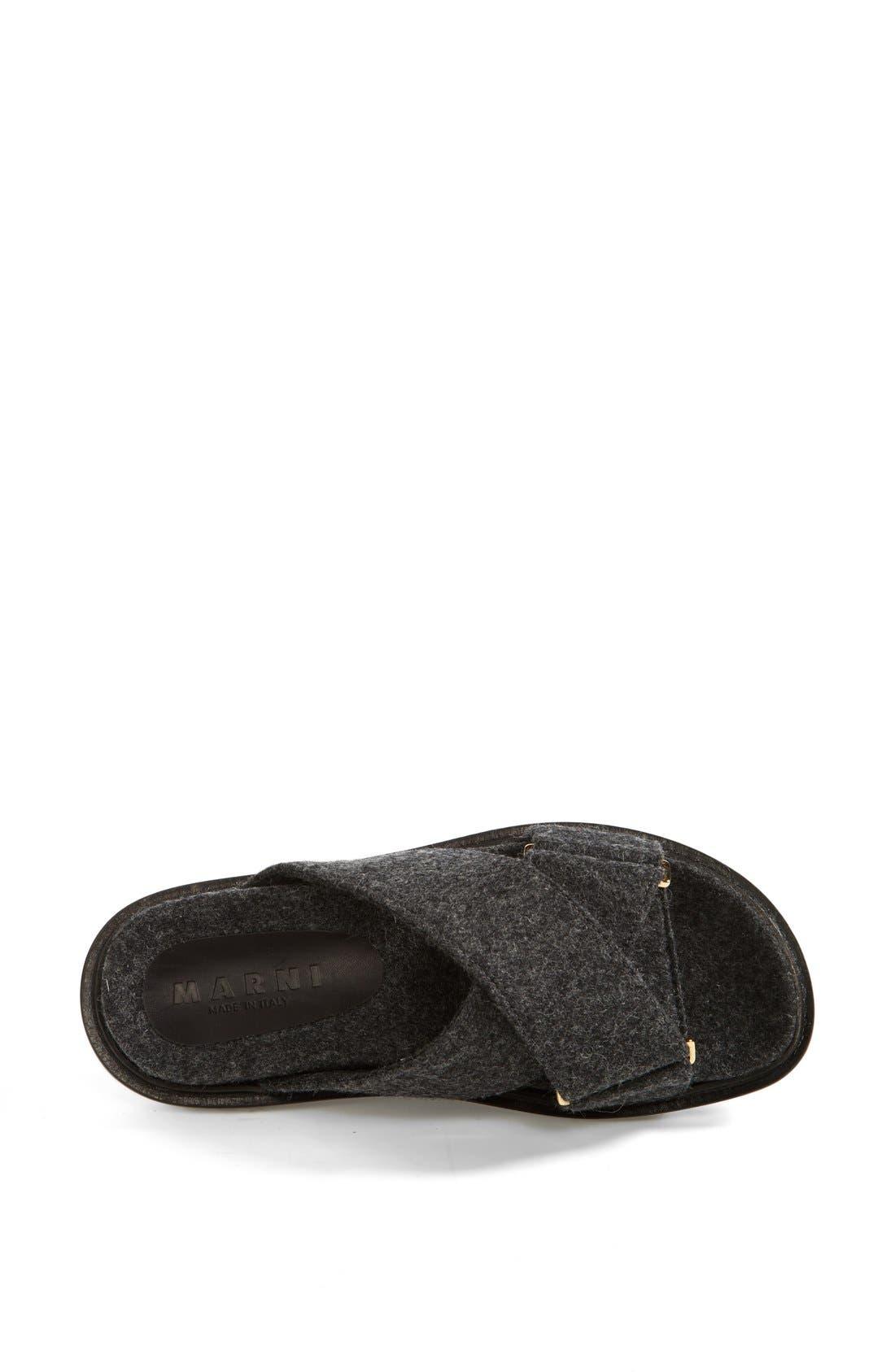 Alternate Image 3  - Marni Flannel Sandal