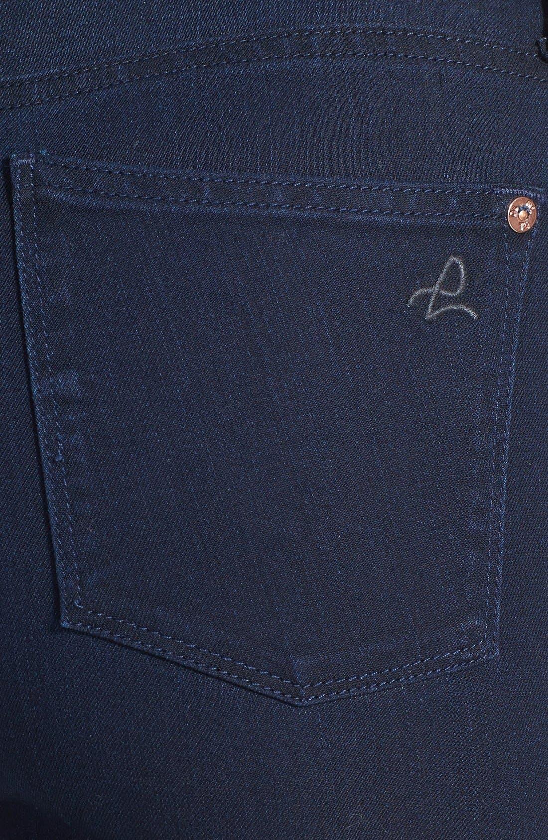 Alternate Image 3  - DL1961 'Bardot High Rise' Crop Jeans (Flat Iron)