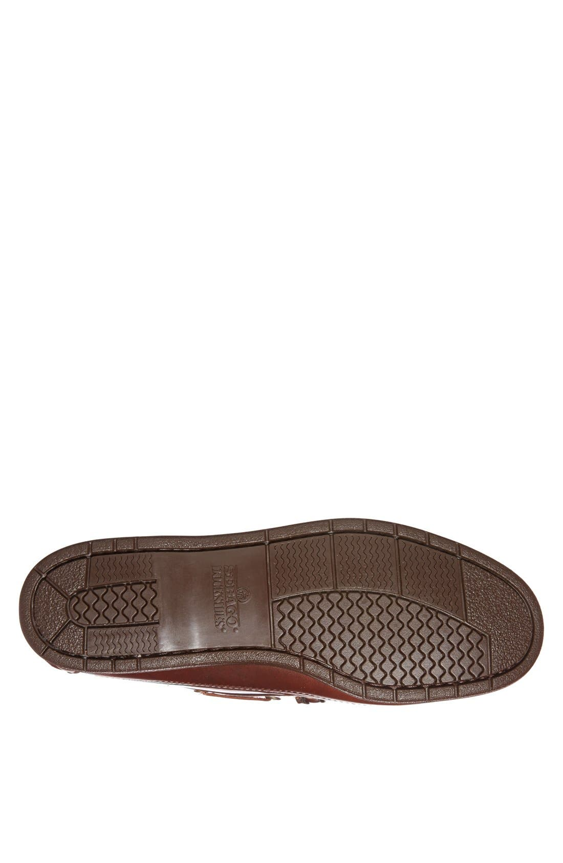 'Sloop' Penny Loafer,                             Alternate thumbnail 4, color,                             Brown