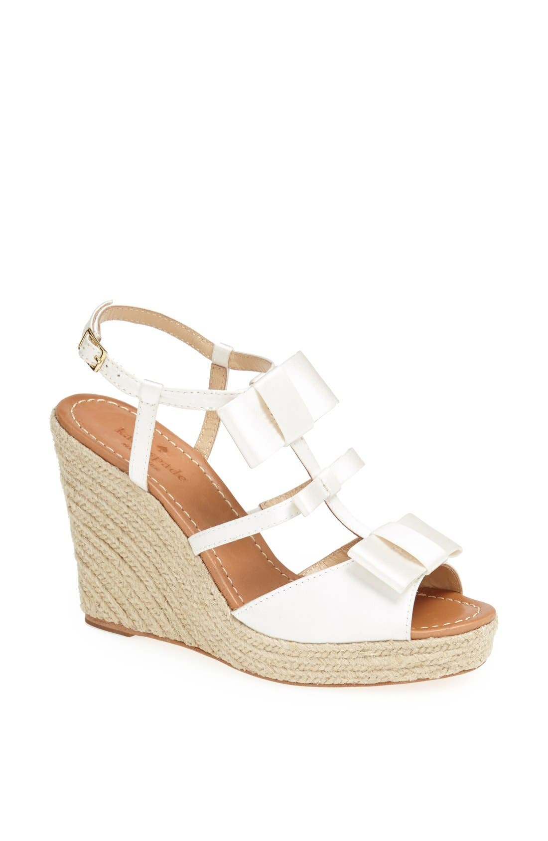 Alternate Image 1 Selected - kate spade new york 'juju' wedge sandal