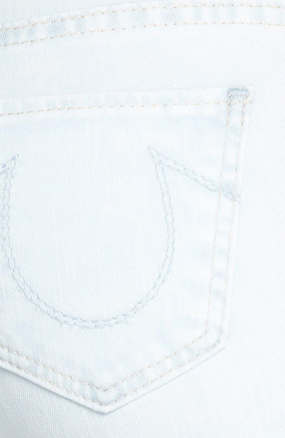Alternate Image 3  - True Religion Brand Jeans Crop Skinny Jeans (Soul Eyes)