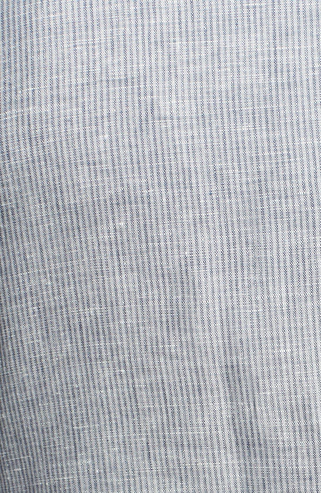 Alternate Image 3  - John Varvatos Star USA Stripe Linen & Cotton Sport Coat