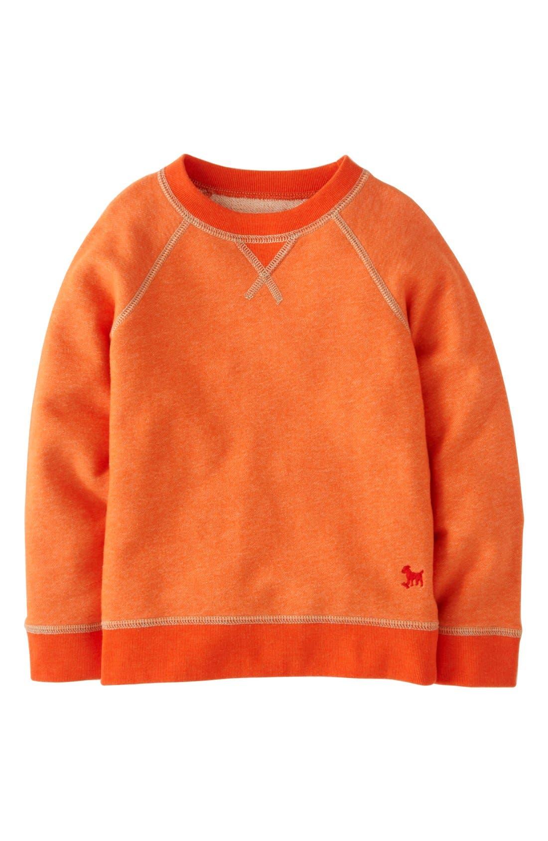 Alternate Image 1 Selected - Mini Boden Sweatshirt (Toddler Boys, Little Boys & Big Boys)