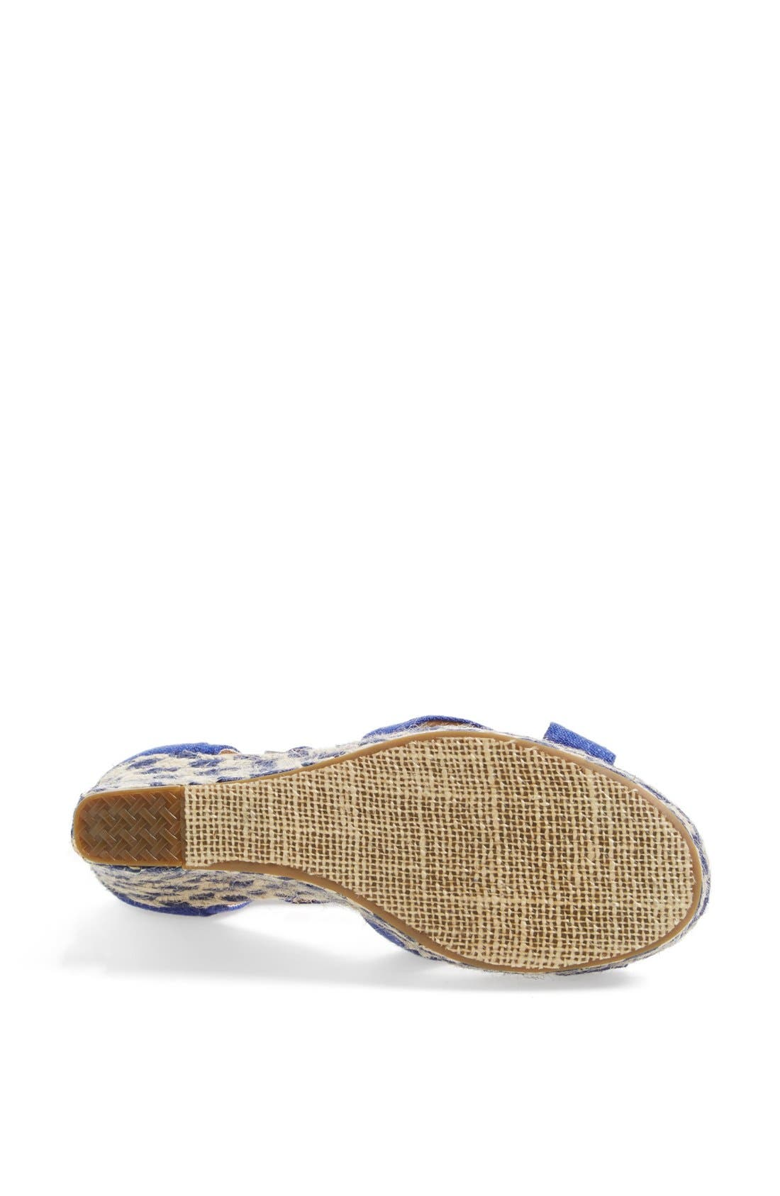 Alternate Image 4  - TOMS 'Mixed Rope' Wedge Sandal
