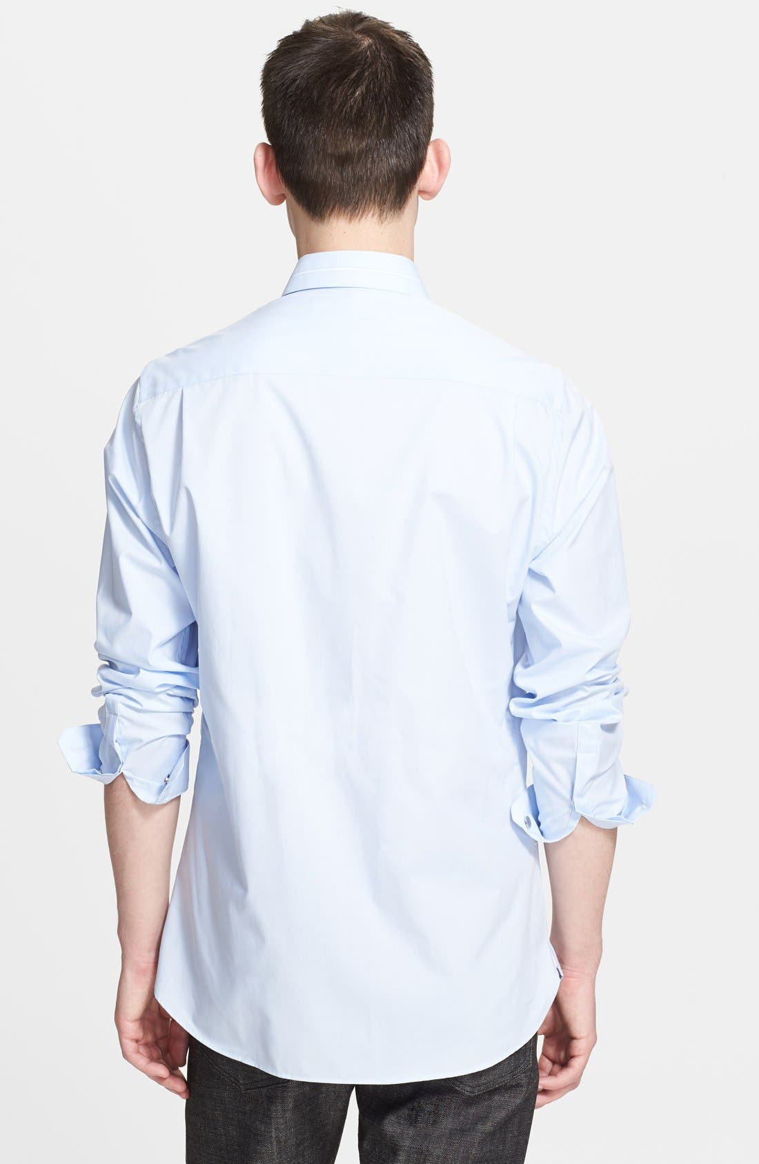 Alternate Image 2  - The Kooples Fitted Dress Shirt