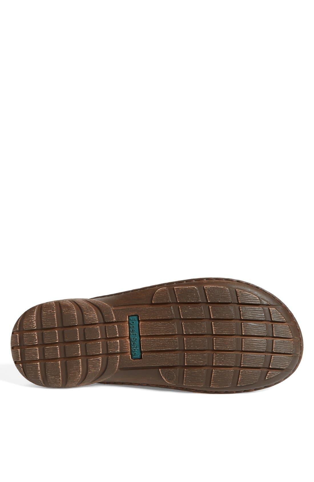 'Logan 21' Slide Sandal,                             Alternate thumbnail 4, color,                             Nut