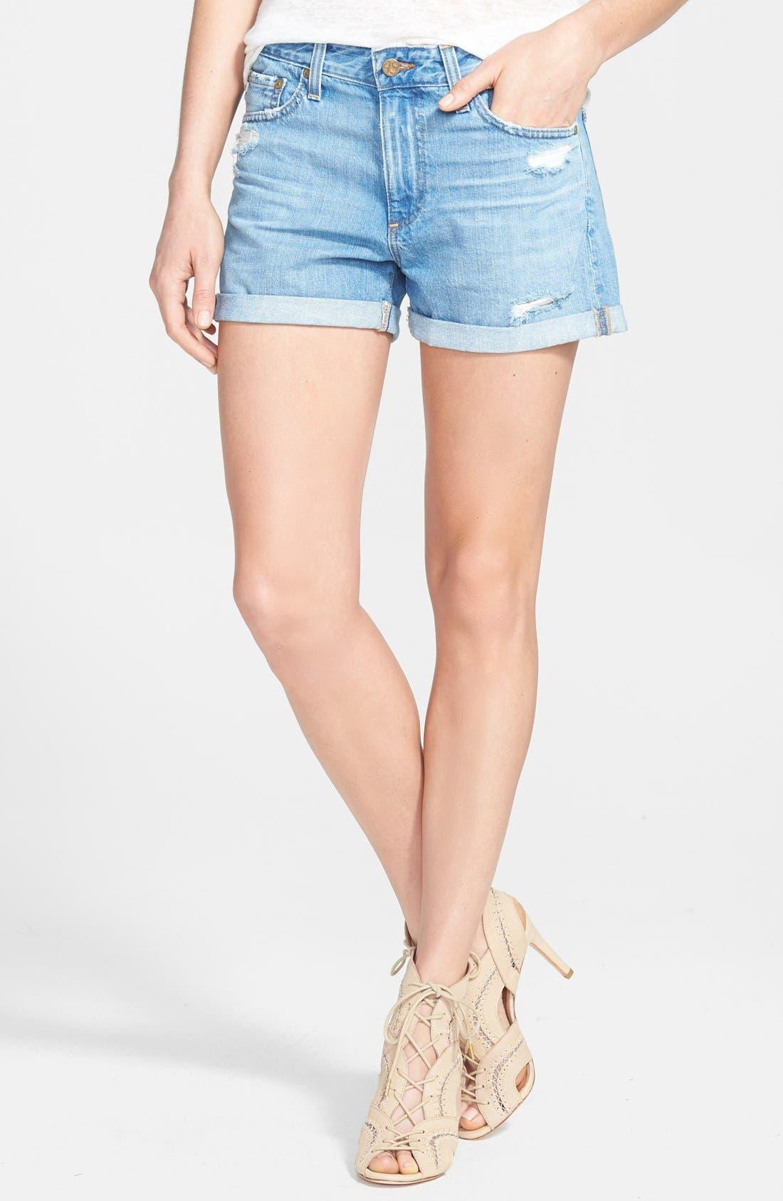 Main Image - AG 'Austen' Shorts (17 Year Lifted)