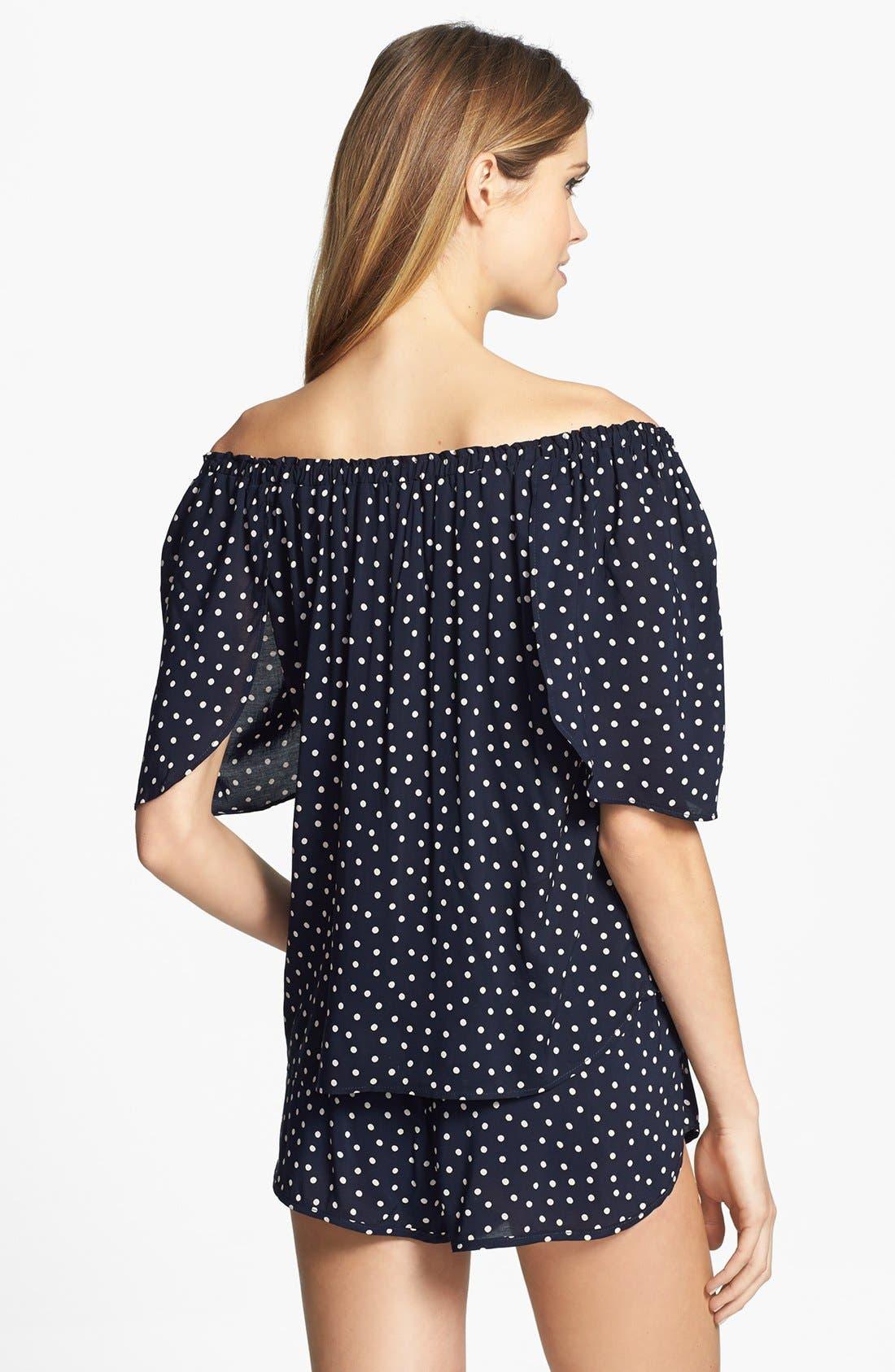 Alternate Image 4  - Only Hearts 'Emily' Pajama Shorts