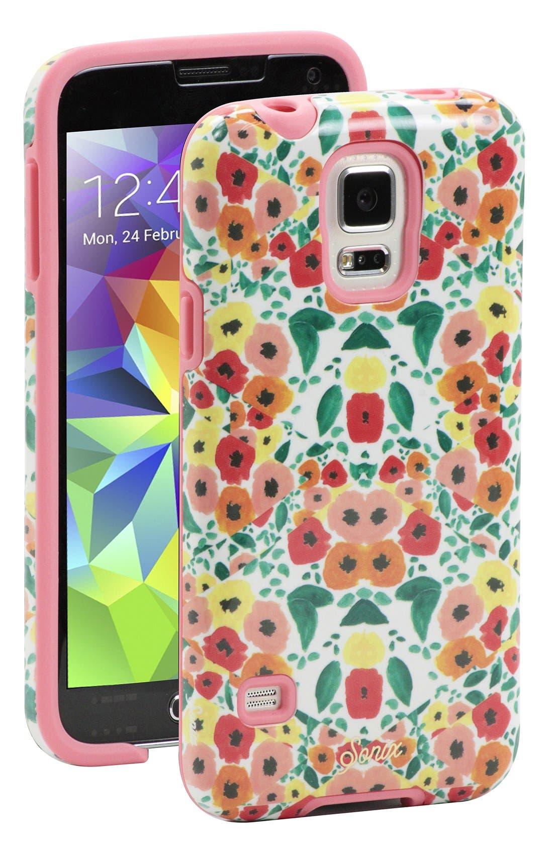 Main Image - Sonix Flower Print Samsung Galaxy S® 5 Case