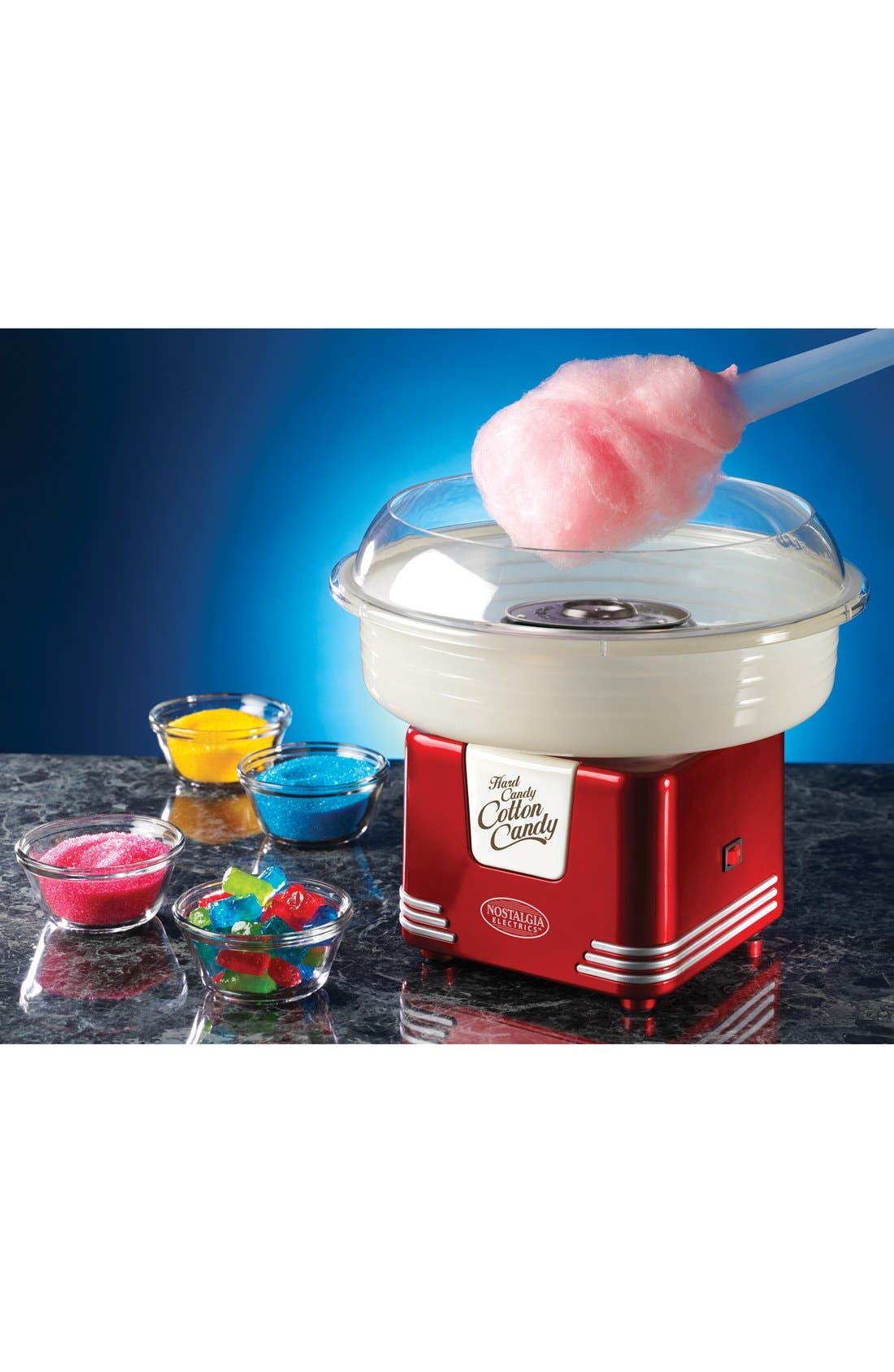'Retro Series' Cotton Candy Maker,                         Main,                         color, Red