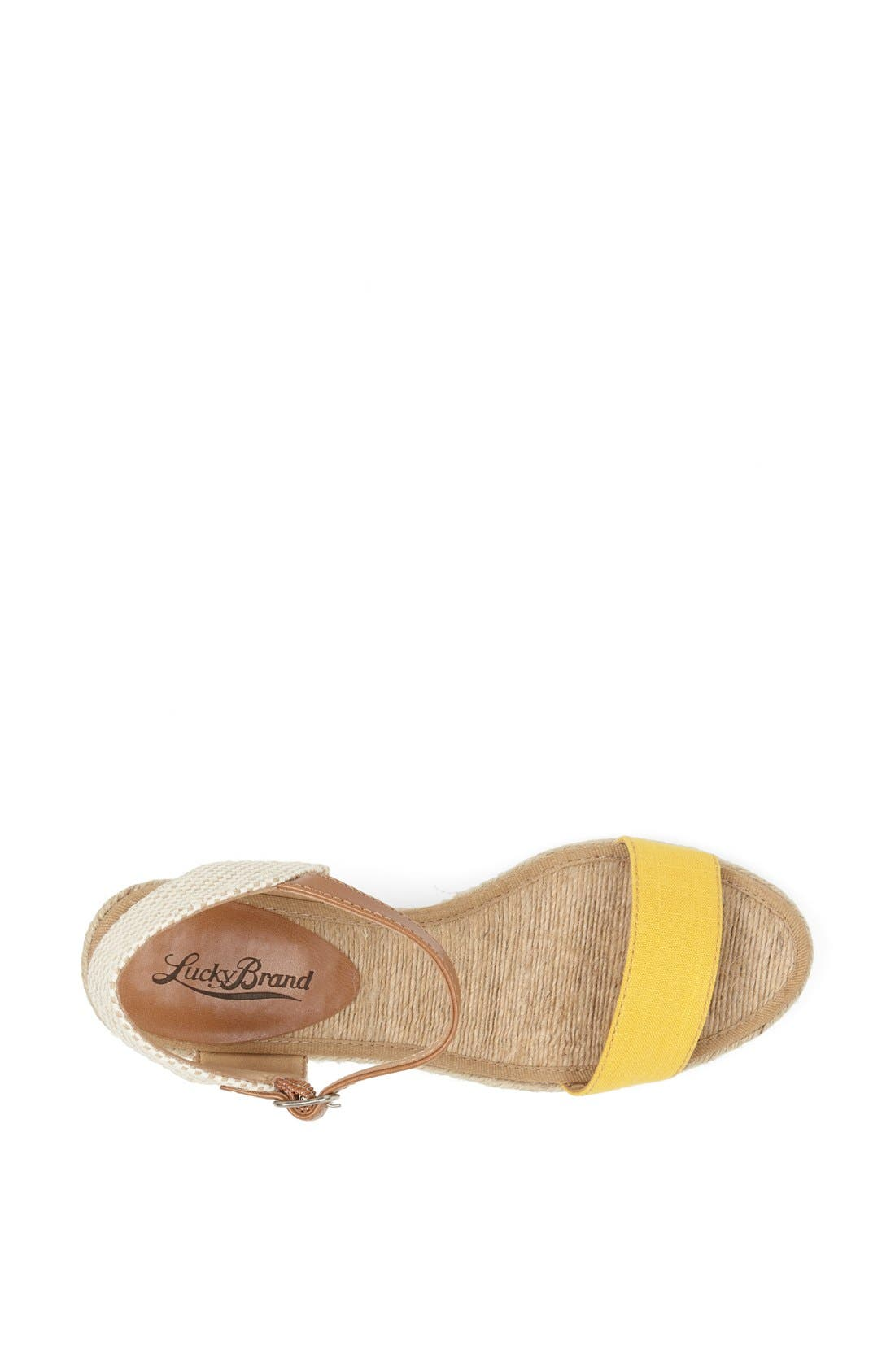 Alternate Image 2  - Lucky Brand 'Kavelli' Espadrille Wedge