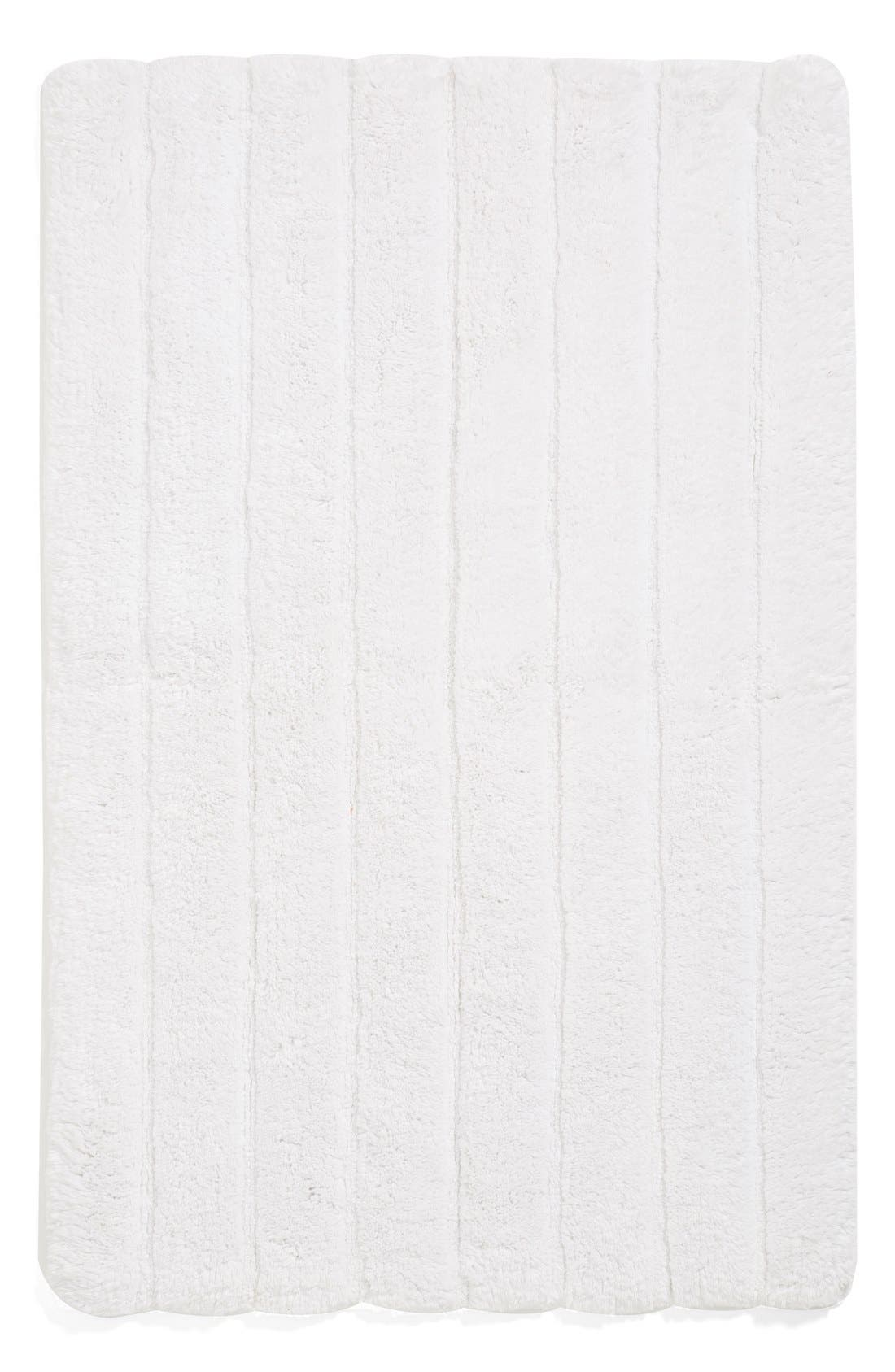 Nordstrom at Home Ribbed Velour Bath Rug