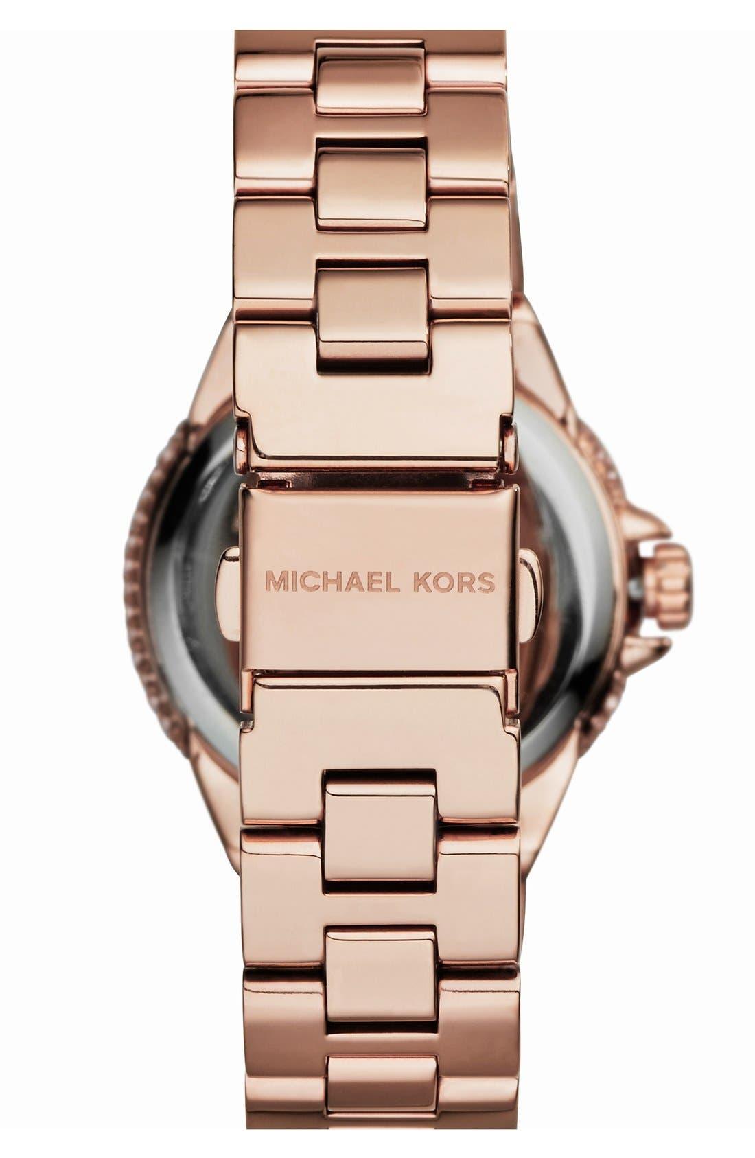 Alternate Image 2  - Michael Kors 'Mini Camille' Crystal Encrusted Bracelet Watch, 33mm