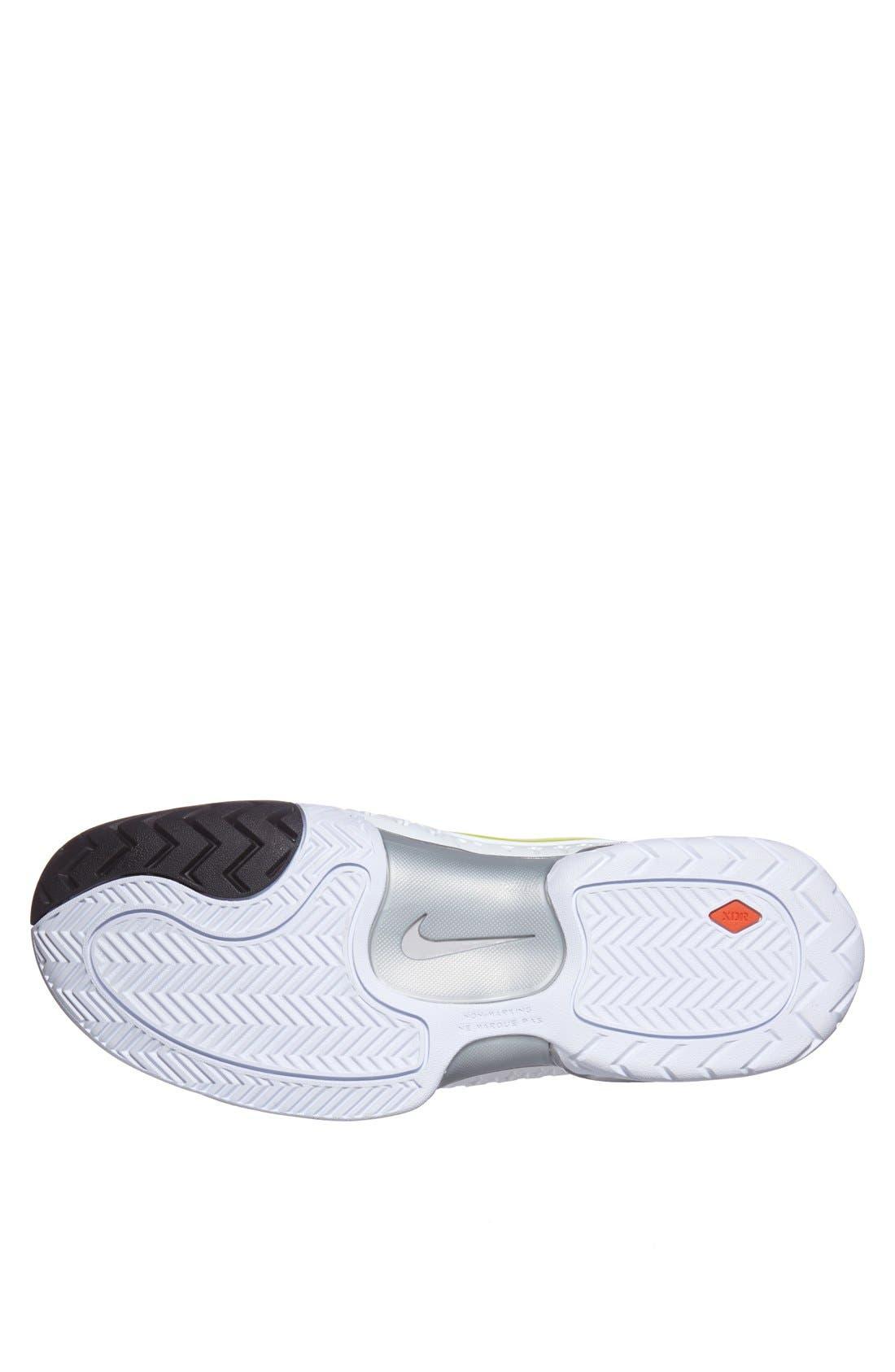 Alternate Image 4  - Nike 'Air Max Cage' Tennis Shoe (Men)