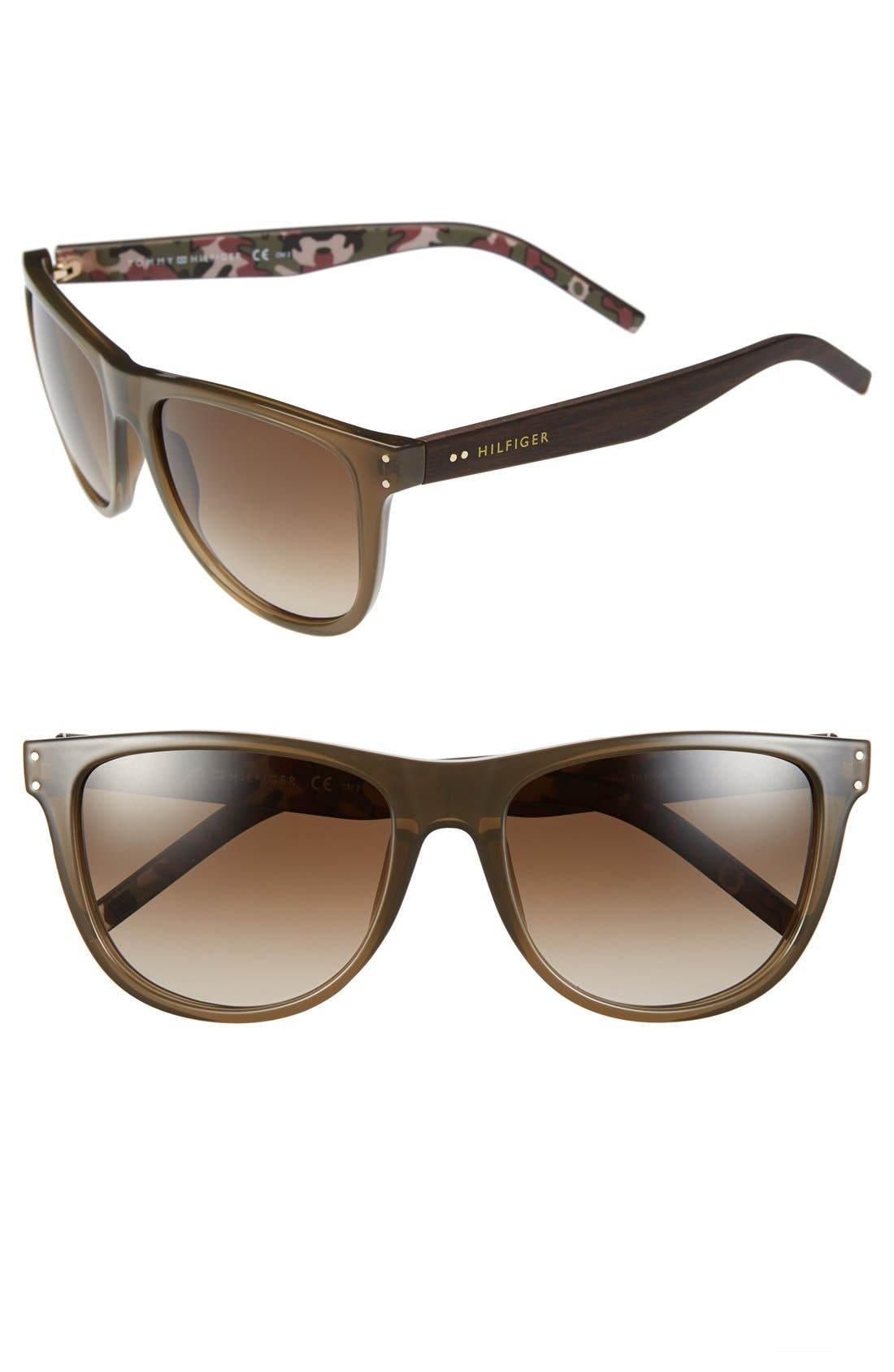 Alternate Image 1 Selected - Tommy Hilfiger 55mm Sunglasses