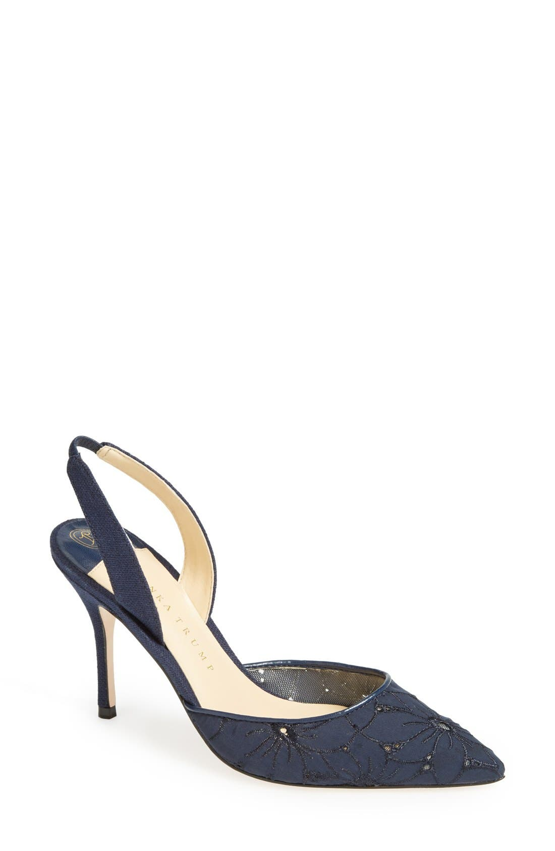 discount with mastercard Ivanka Trump Delmar Slingback Pumps cheap looking for cheap sale shop offer IT7CI