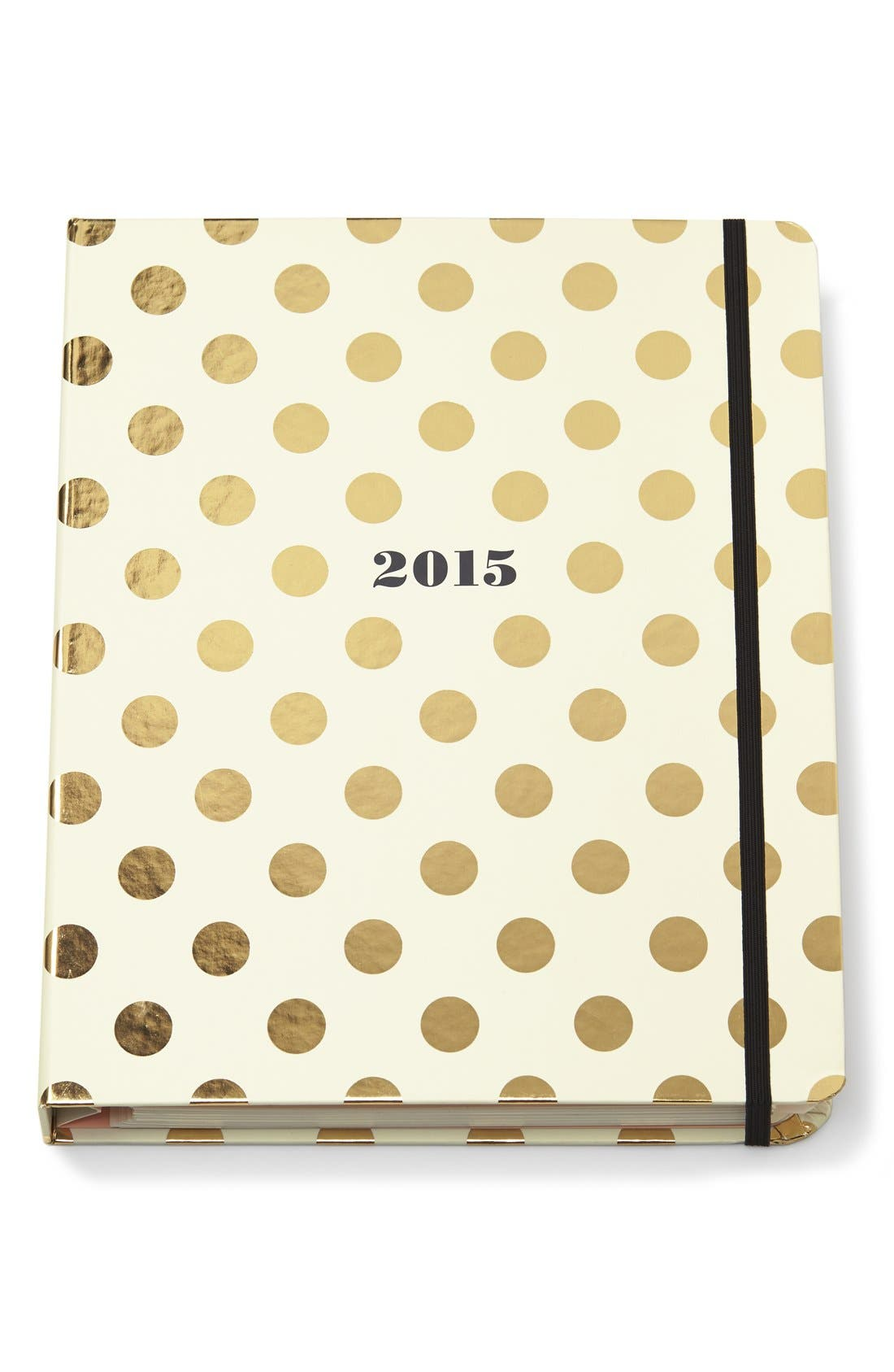 'large' journal,                         Main,                         color, Gold Dots
