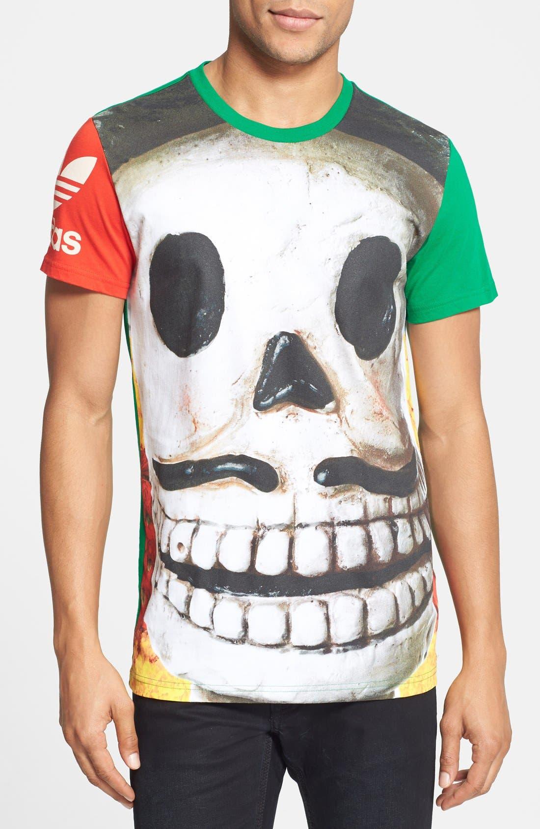 Alternate Image 1 Selected - adidas Originals 'Daydead' T-Shirt