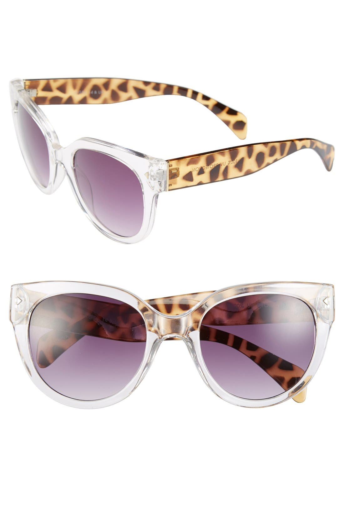 Alternate Image 1 Selected - FE NY 'Animal' 53mm Sunglasses