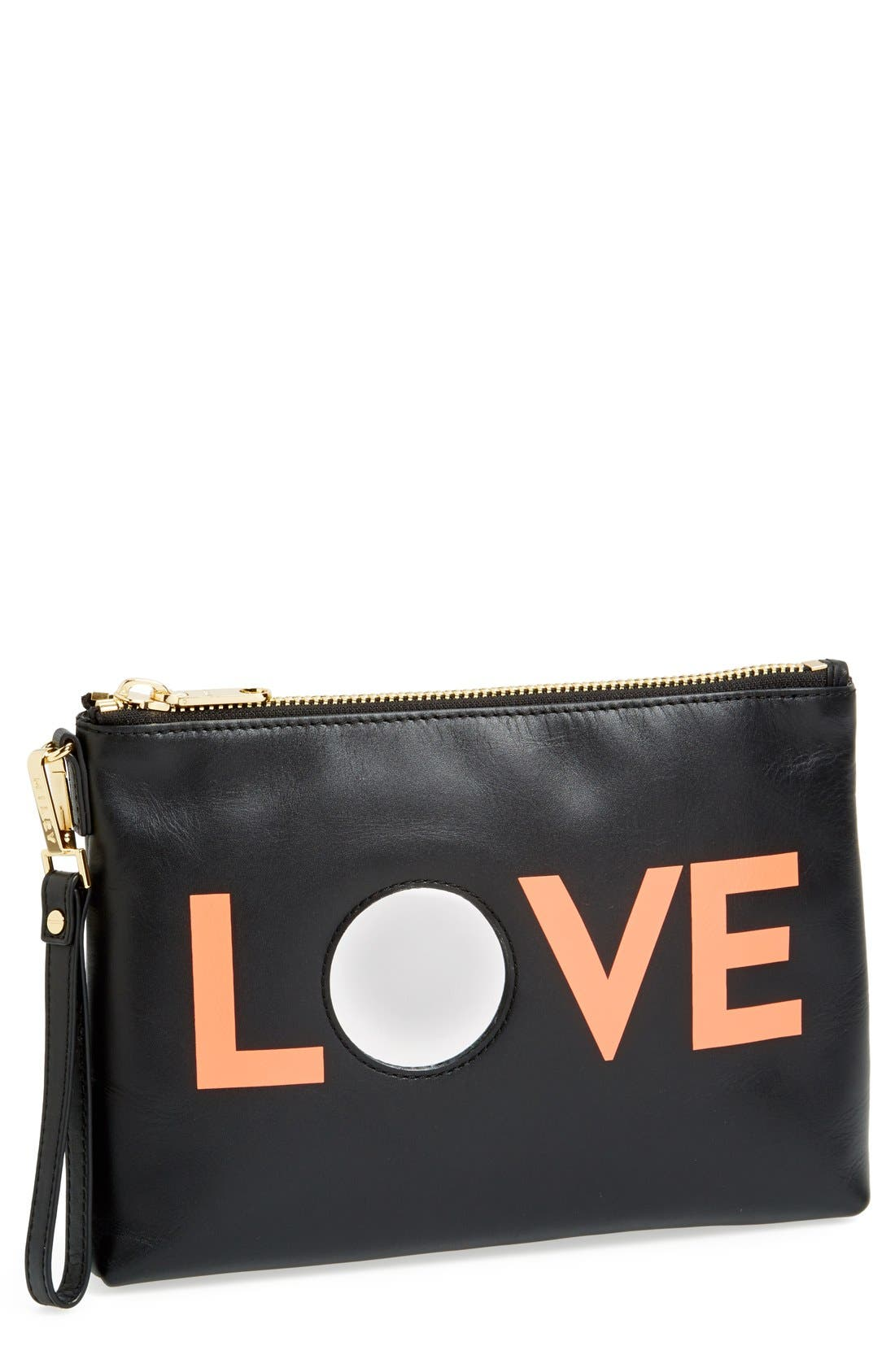 Alternate Image 1 Selected - Milly 'Love' Wristlet Clutch