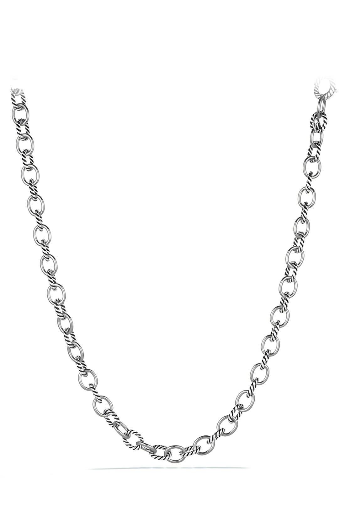 Alternate Image 1 Selected - David Yurman 'Oval' Medium Link Necklace