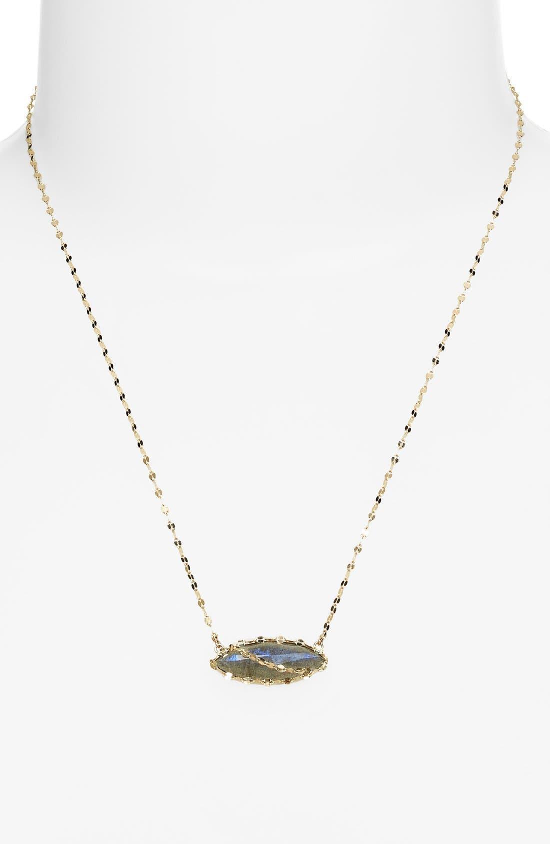 Alternate Image 2  - Lana Jewelry 'Ultra' Labradorite Marquise Pendant Necklace