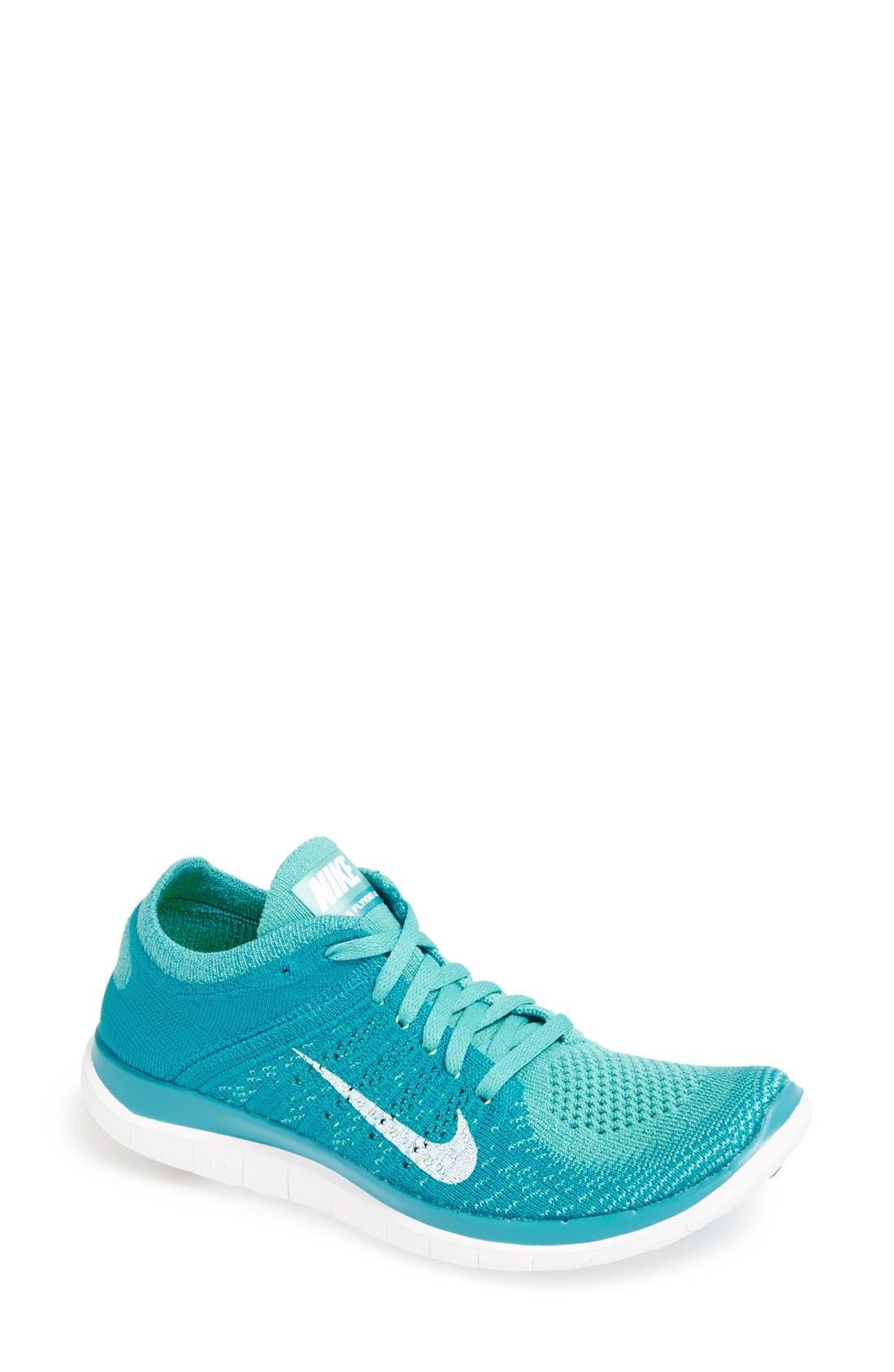 Main Image - Nike 'Free 4.0 Flyknit' Running Shoe (Women) (Regular Retail Price: $120.00)