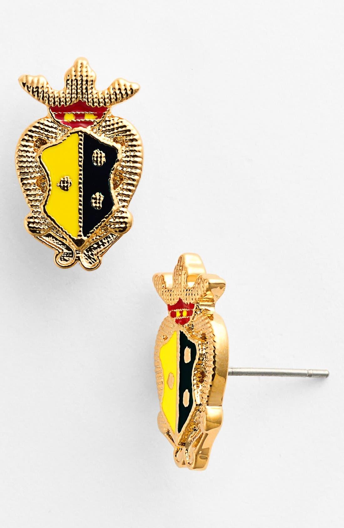 Alternate Image 1 Selected - Tory Burch 'Dellora' Stud Earrings