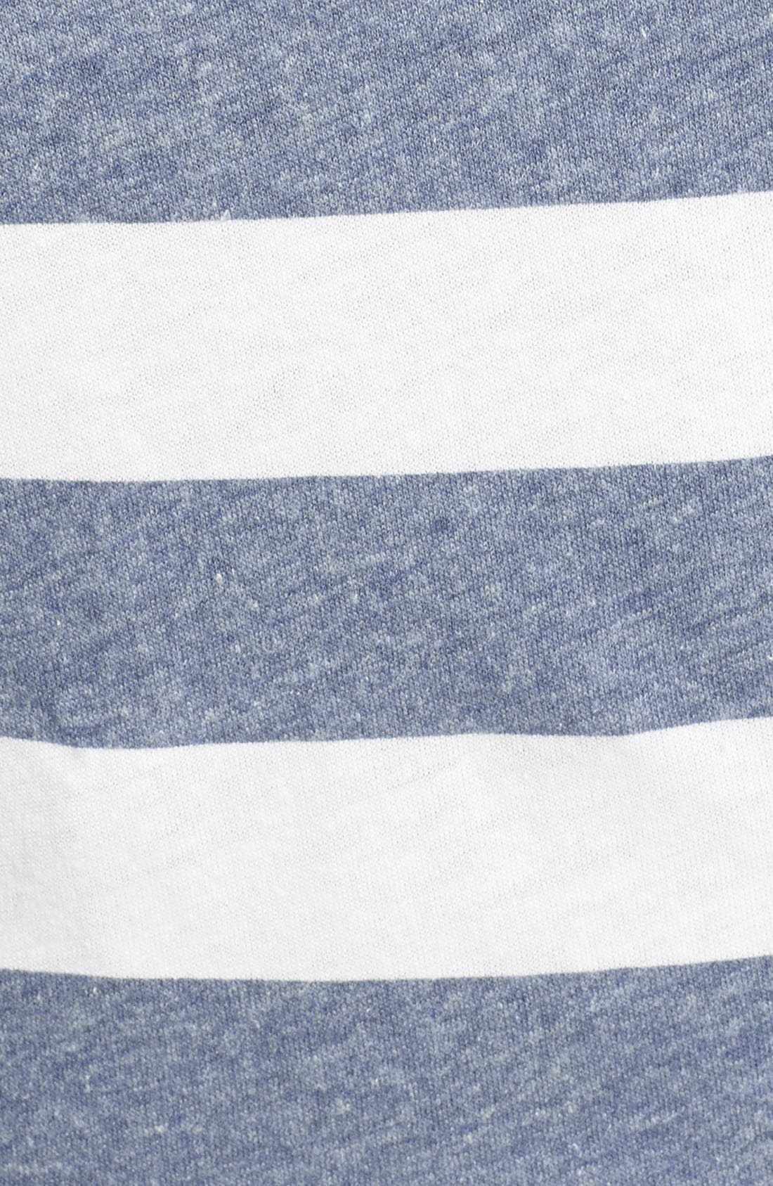 Alternate Image 3  - Billabong 'Before Me' Stripe Knot Front Crop Tee (Juniors)
