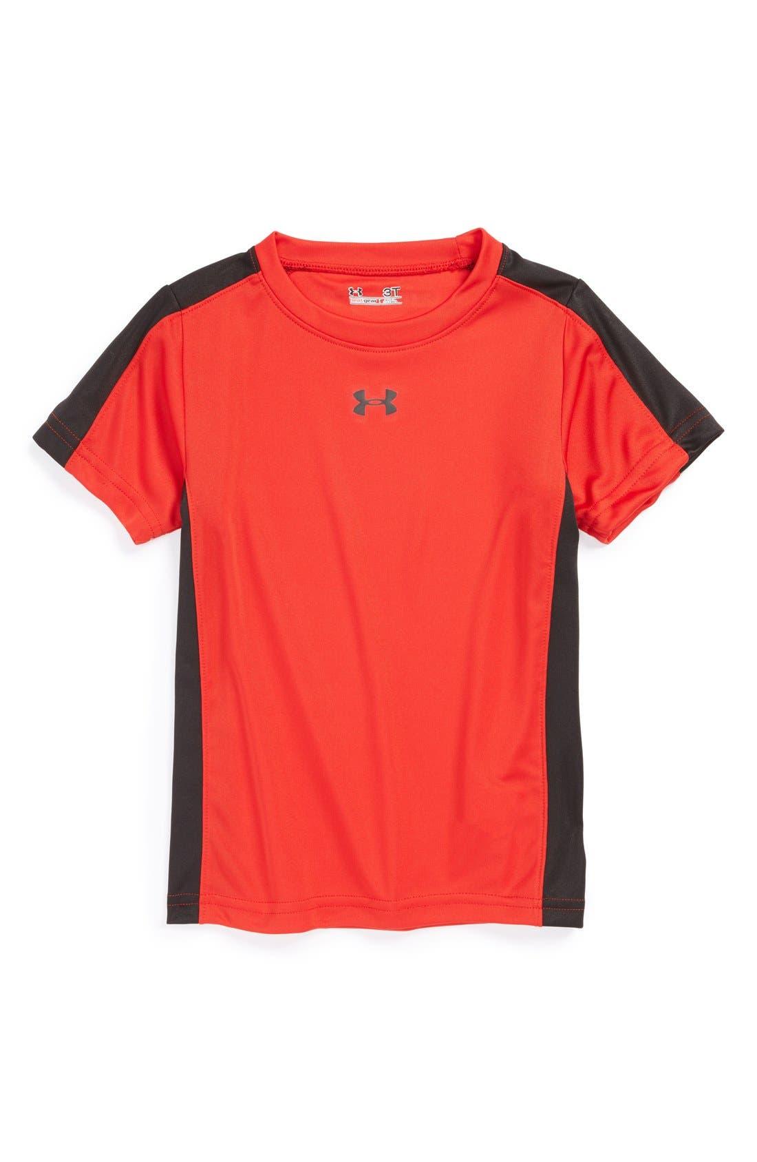 Main Image - Under Armour 'Souped Up' HeatGear® T-Shirt (Toddler Boys)