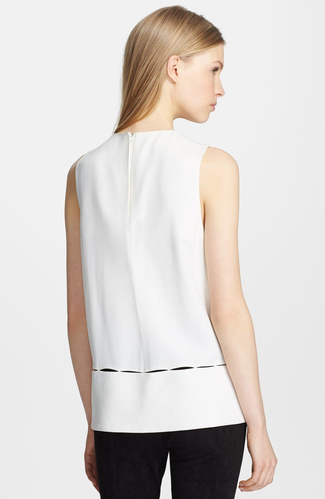 Alternate Image 2  - Proenza Schouler Satin-Back Crepe Blouse