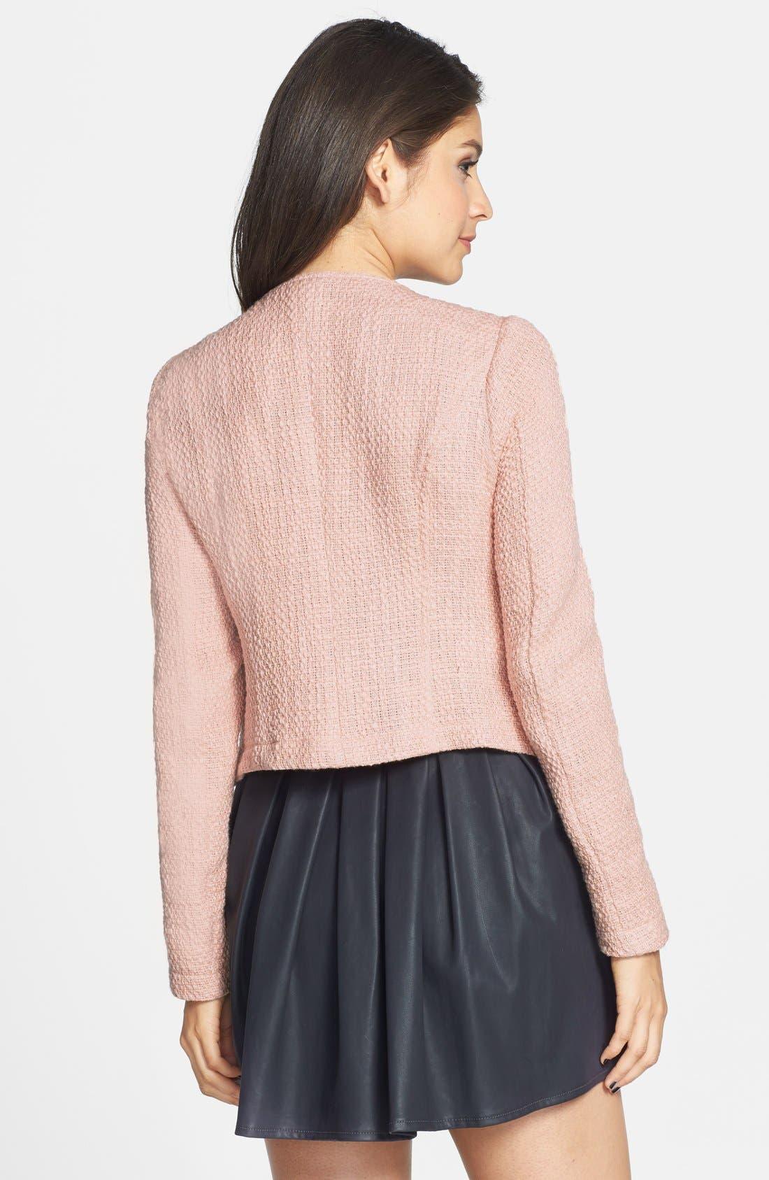 Alternate Image 2  - Stoosh Tweed Jacket (Juniors)