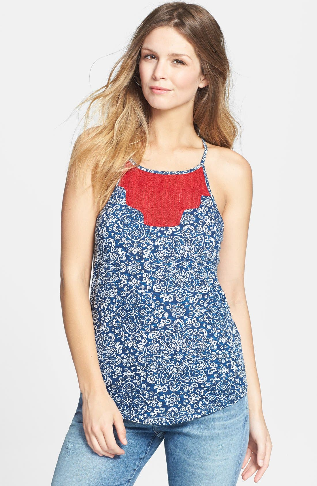 Alternate Image 1 Selected - Lucky Brand 'Isabella' Tank