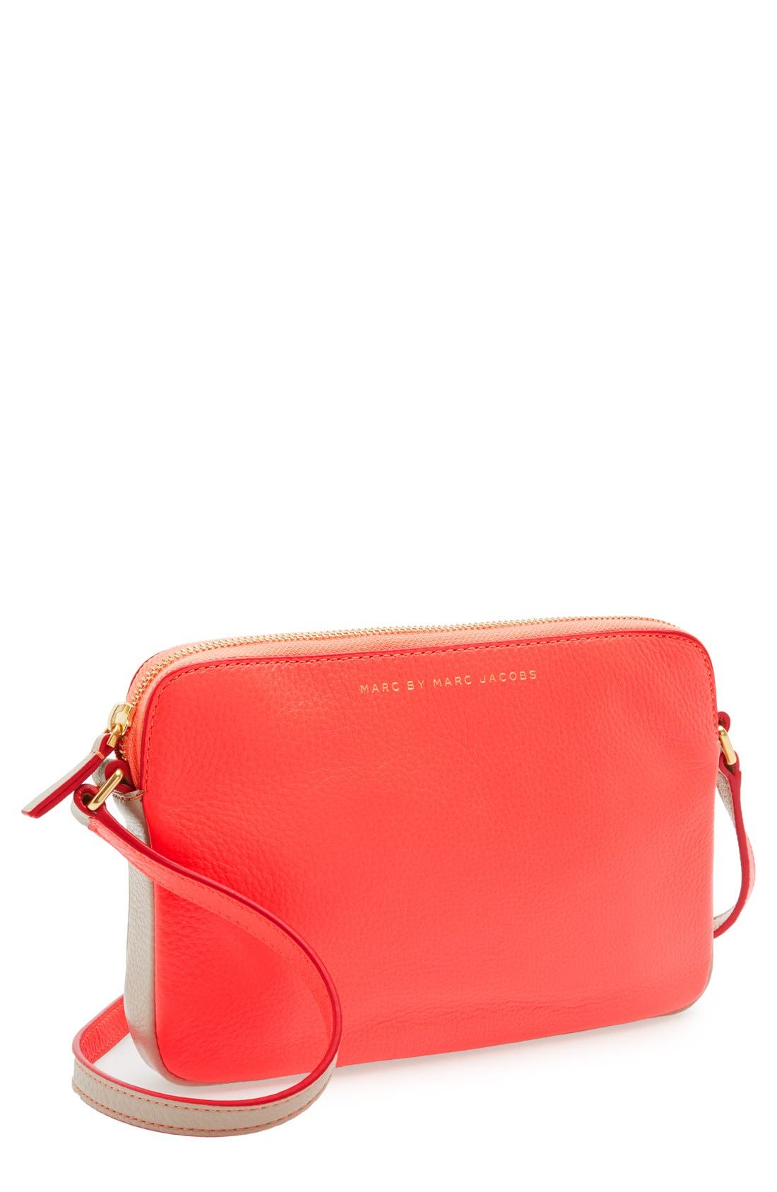 Alternate Image 1 Selected - MARC BY MARC JACOBS 'Sophisticato - Dani' Leather Crossbody Bag