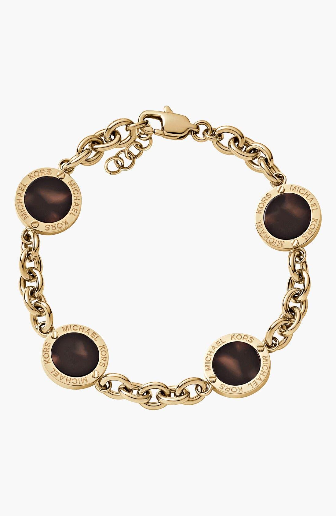 Alternate Image 1 Selected - Michael Kors 'Modern Mix' Station Bracelet
