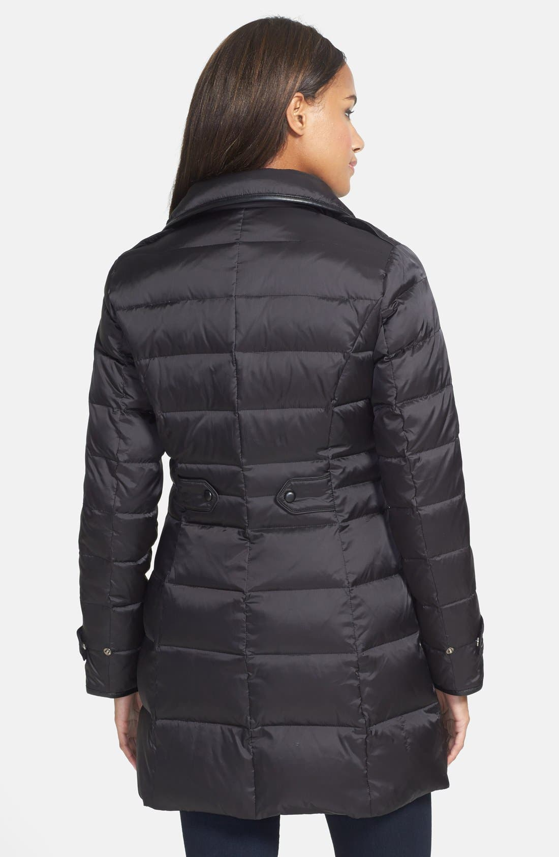 Alternate Image 2  - Cole Haan Asymmetrical Double Breasted Down Coat