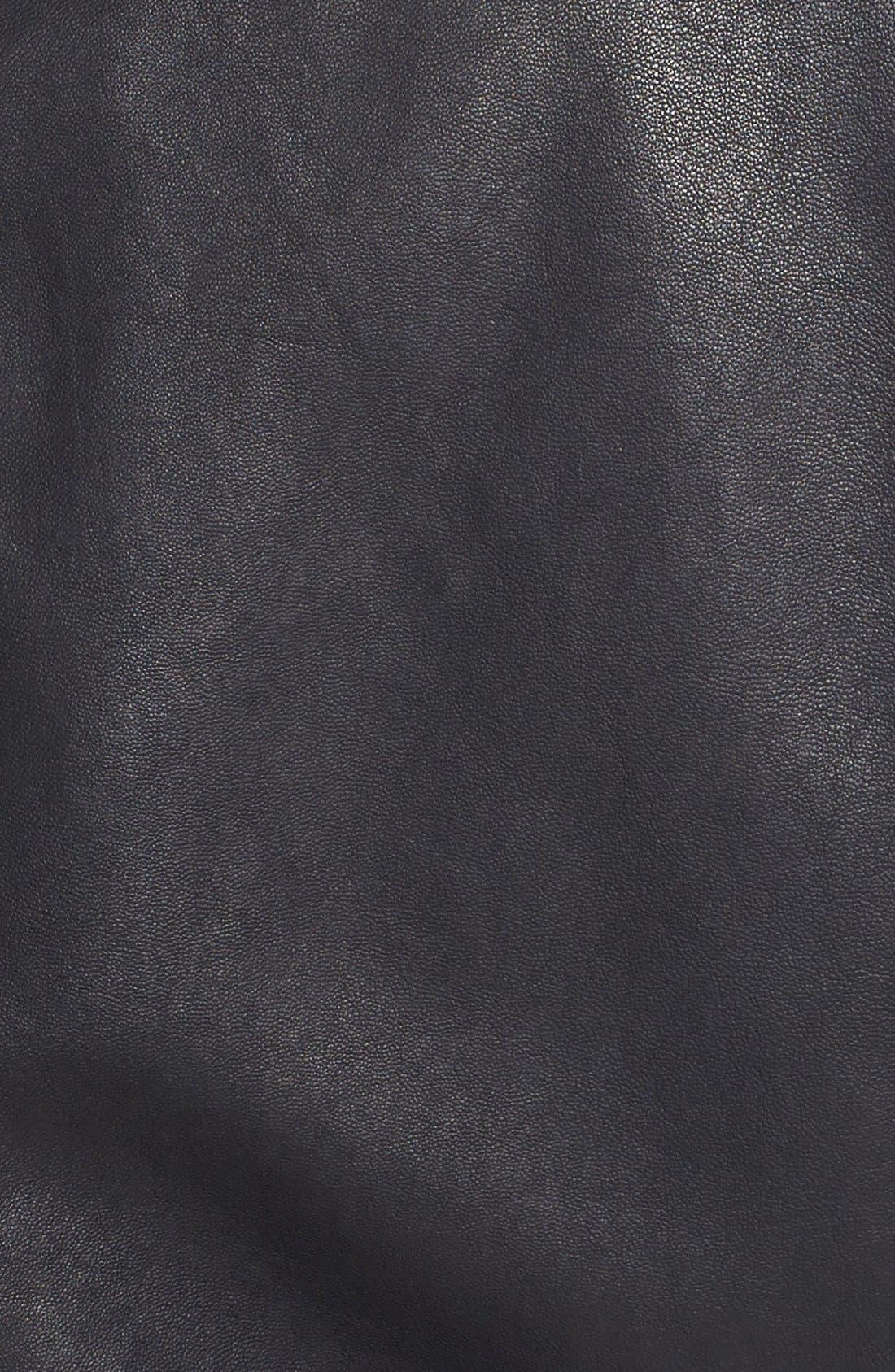 Alternate Image 3  - Vince Leather Moto Jacket