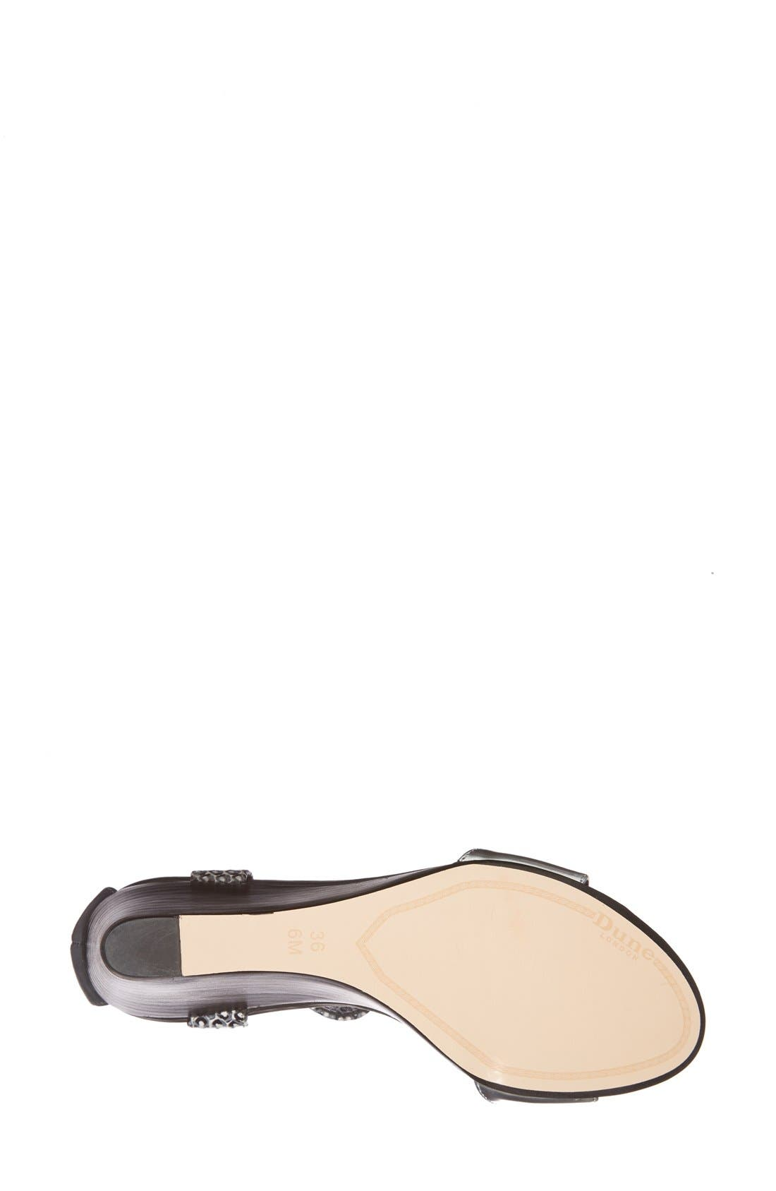 Alternate Image 4  - Dune London 'Ginni' Wedge Sandal (Women)