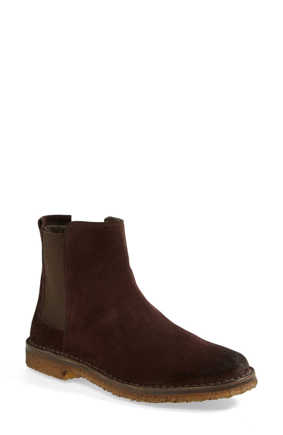 Alternate Image 1 Selected - Vince 'Cody' Genuine Shearling Lined Chelsea Bootie (Women)