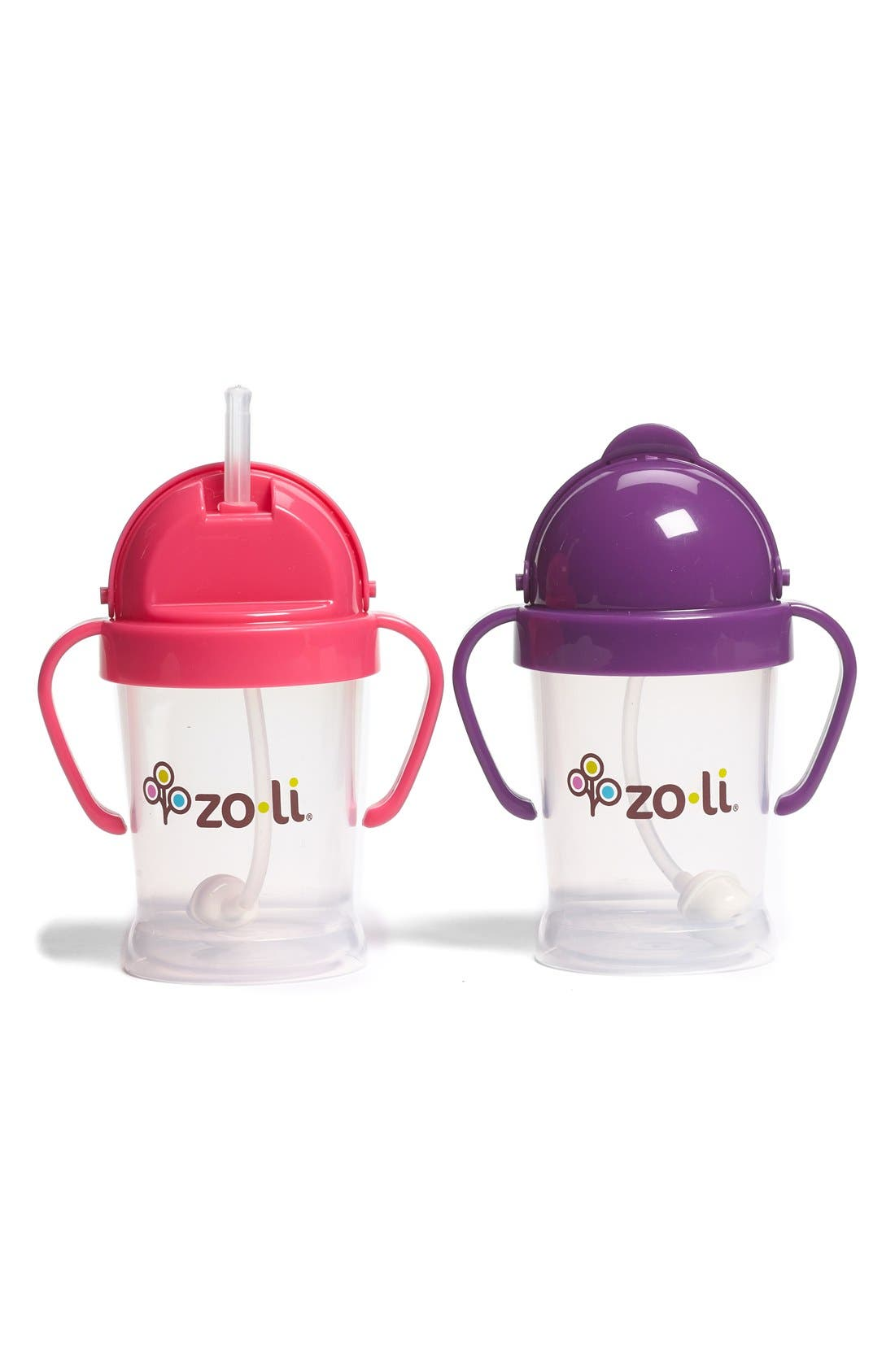 Alternate Image 1 Selected - ZoLi 'BOT' Sippy Cup (2-Pack)