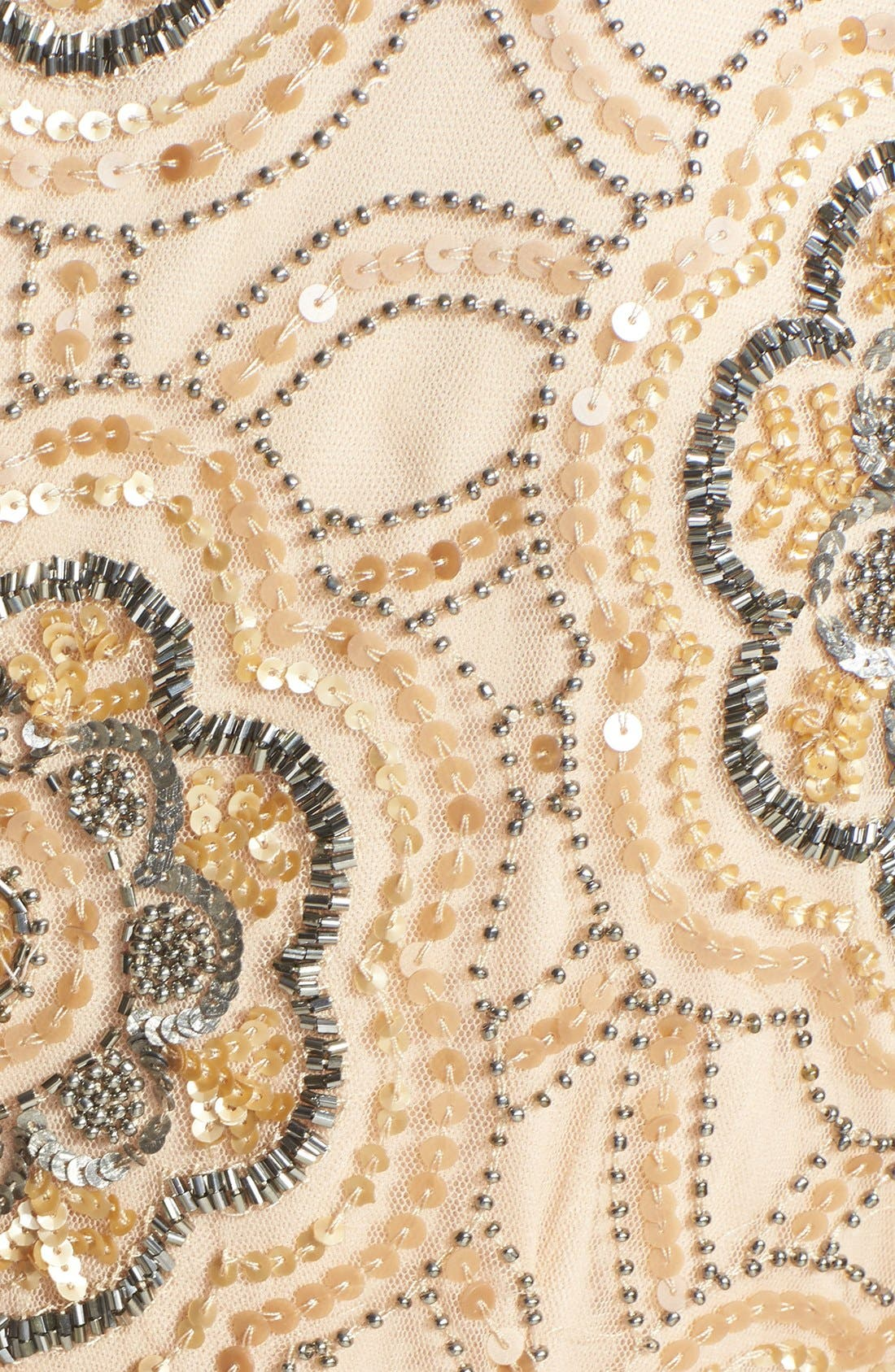 Alternate Image 4  - Adrianna Papell Beaded Cutaway Sheath Dress