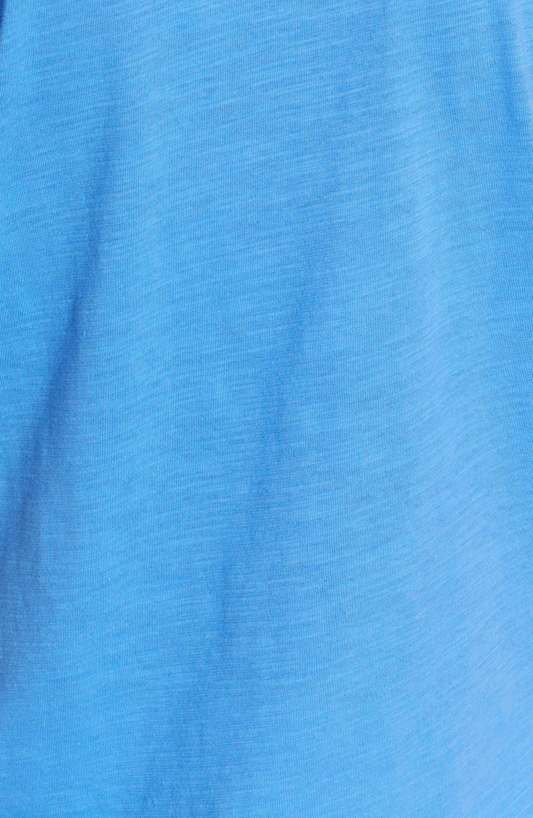 Alternate Image 3  - MICHAEL Michael Kors Studded Slubbed Cotton Tee