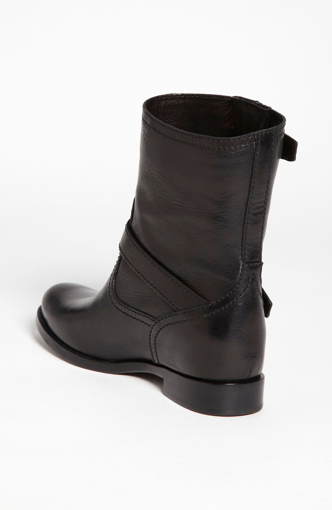 Alternate Image 2  - Prada Double Buckle Short Boot (Women)