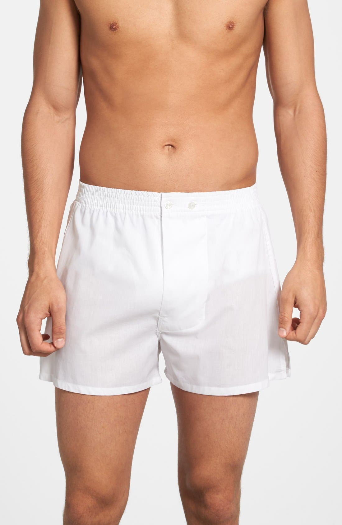 Alternate Image 4  - Nordstrom Men's Shop 3-Pack Classic Fit Boxers