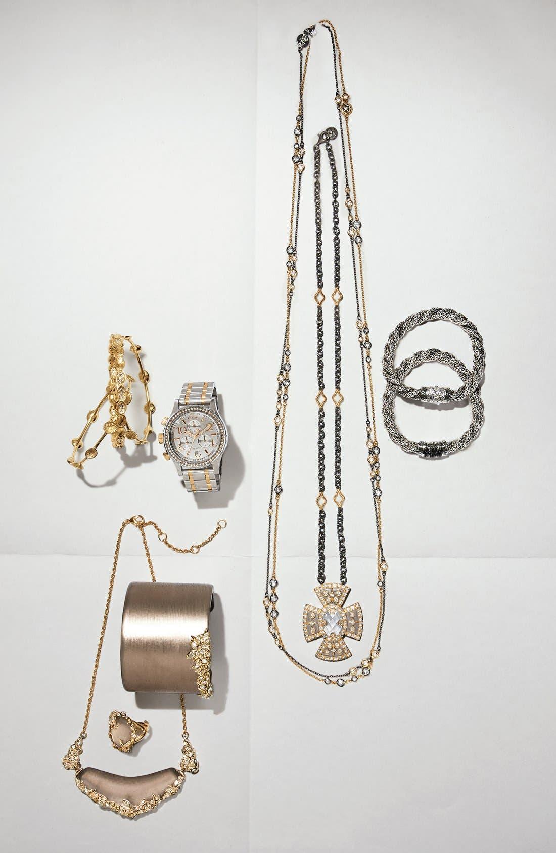 Alternate Image 4  - Nixon 'The 38-20' Crystal Bezel Chronograph Bracelet Watch, 38mm