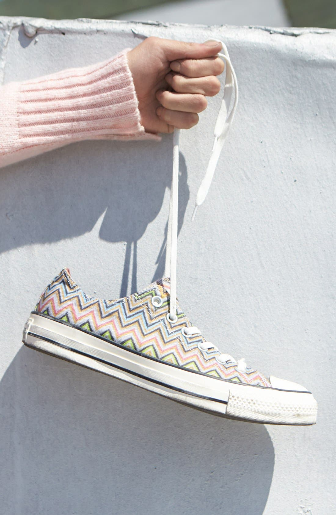 x Missoni Chuck Taylor<sup>®</sup> All Star<sup>®</sup> Low Sneaker,                             Alternate thumbnail 7, color,